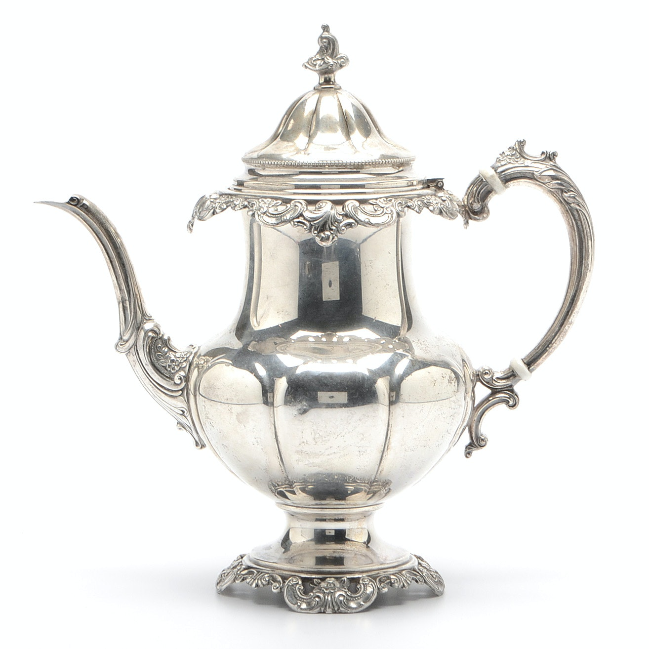 """Sterling Silver Wallace """"Grand Baroque"""" Coffee Pot"""