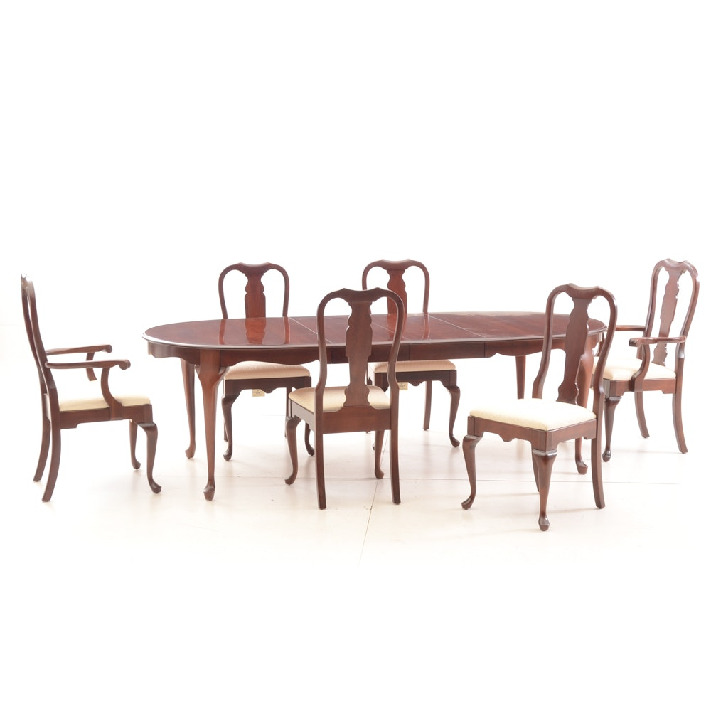 Queen Anne Style Dining Set