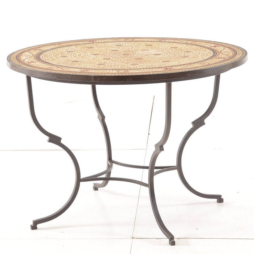 Tremendous Pier One Tile Mosaic Coffee Table Ocoug Best Dining Table And Chair Ideas Images Ocougorg