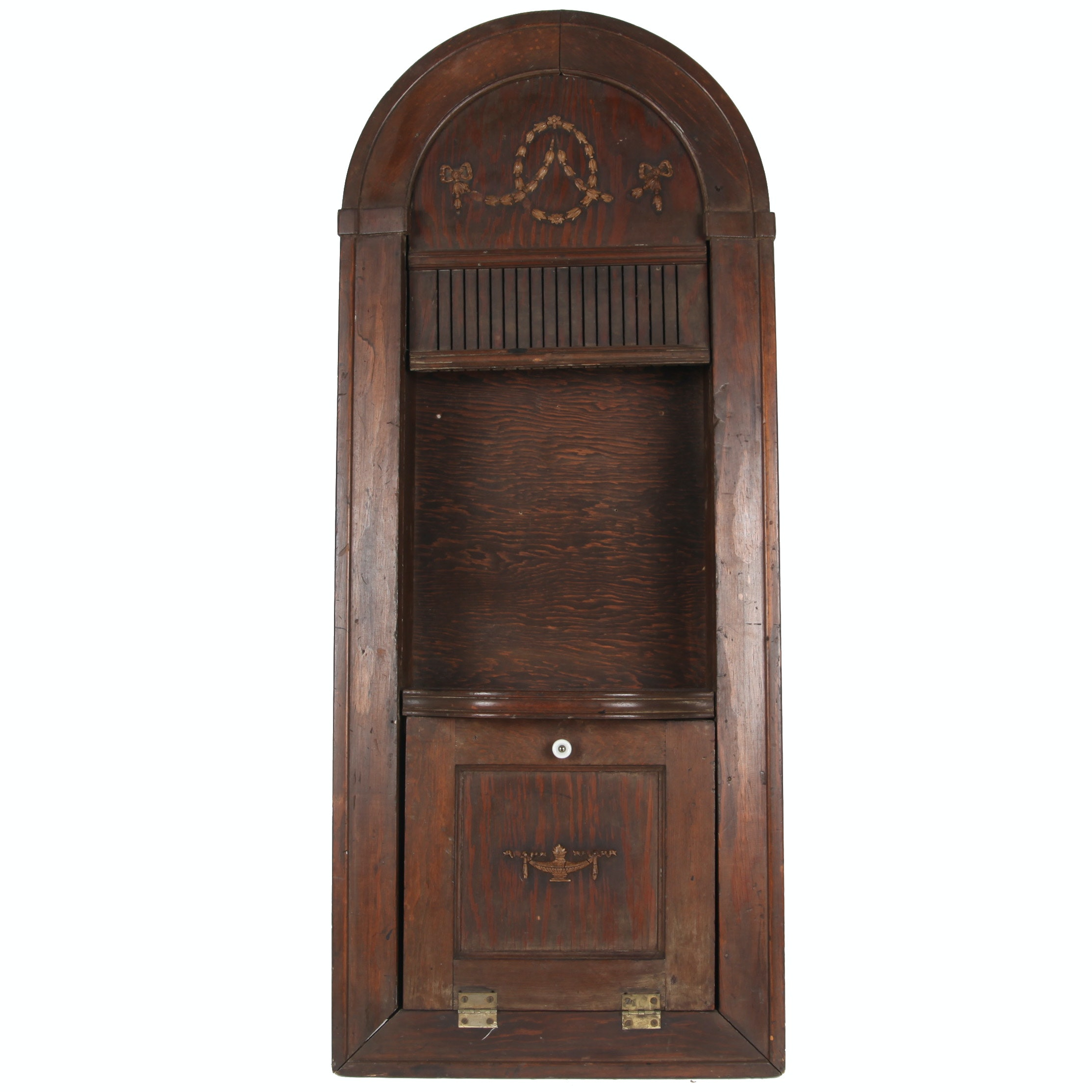 Vintage Wall Display Cabinet