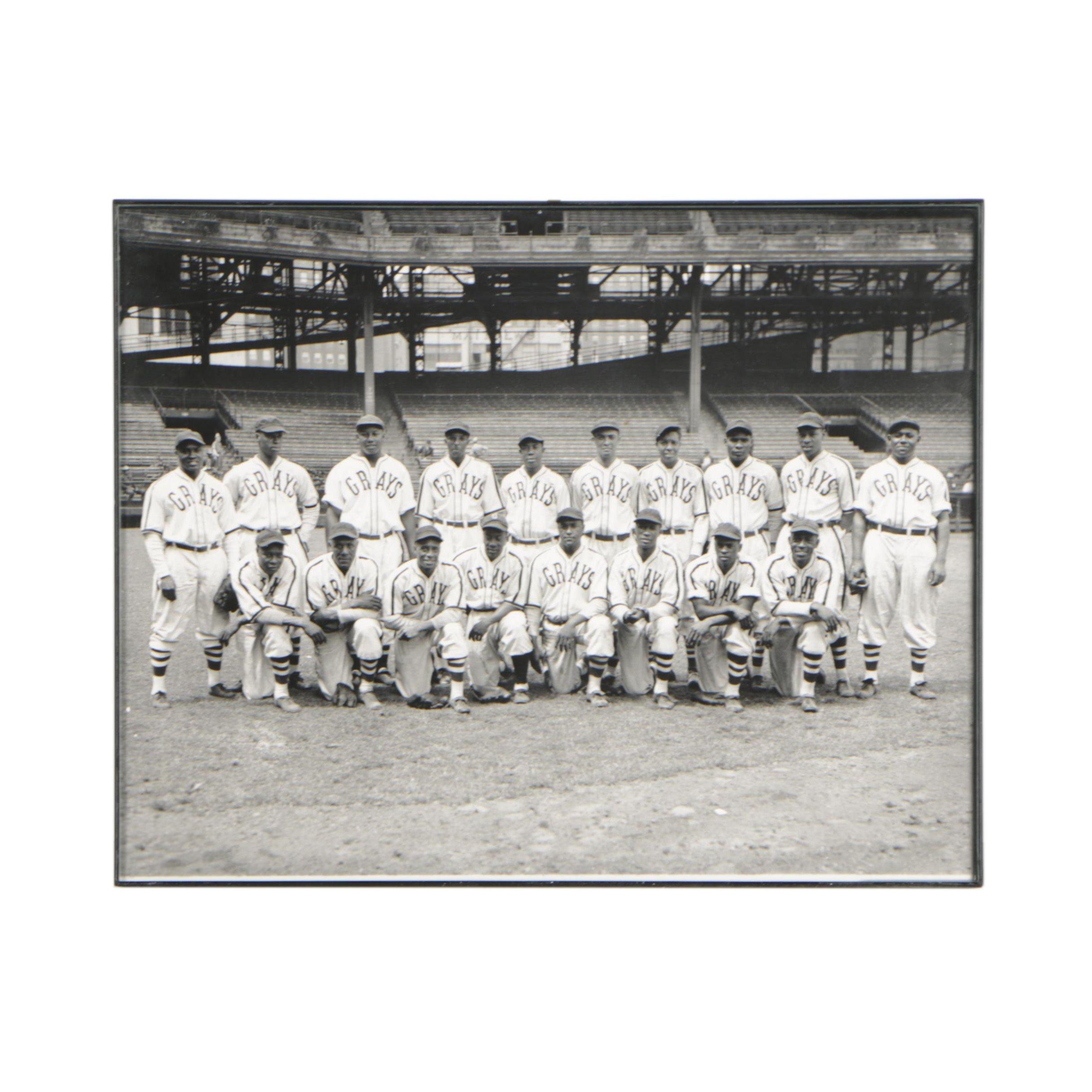 Team Photograph of the Homestead Grays