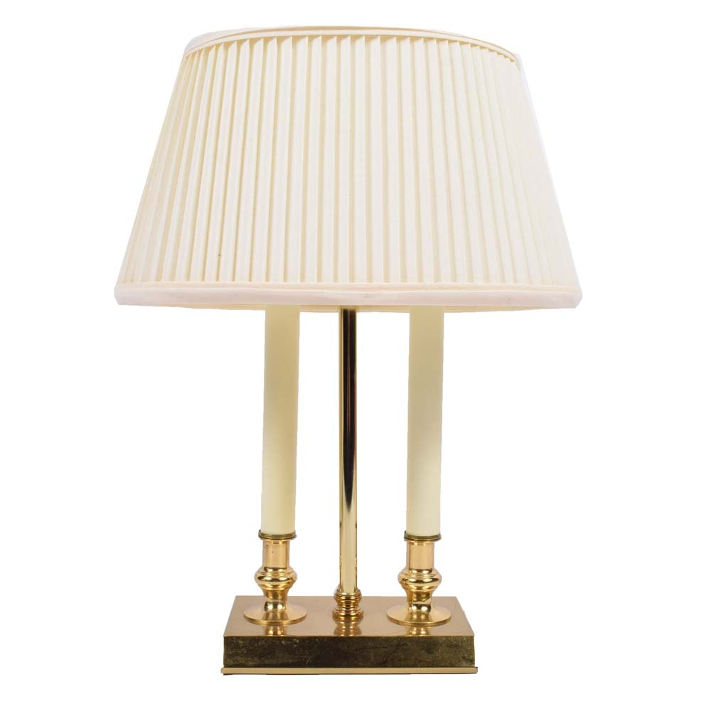 Bouillotte Style Table Lamp
