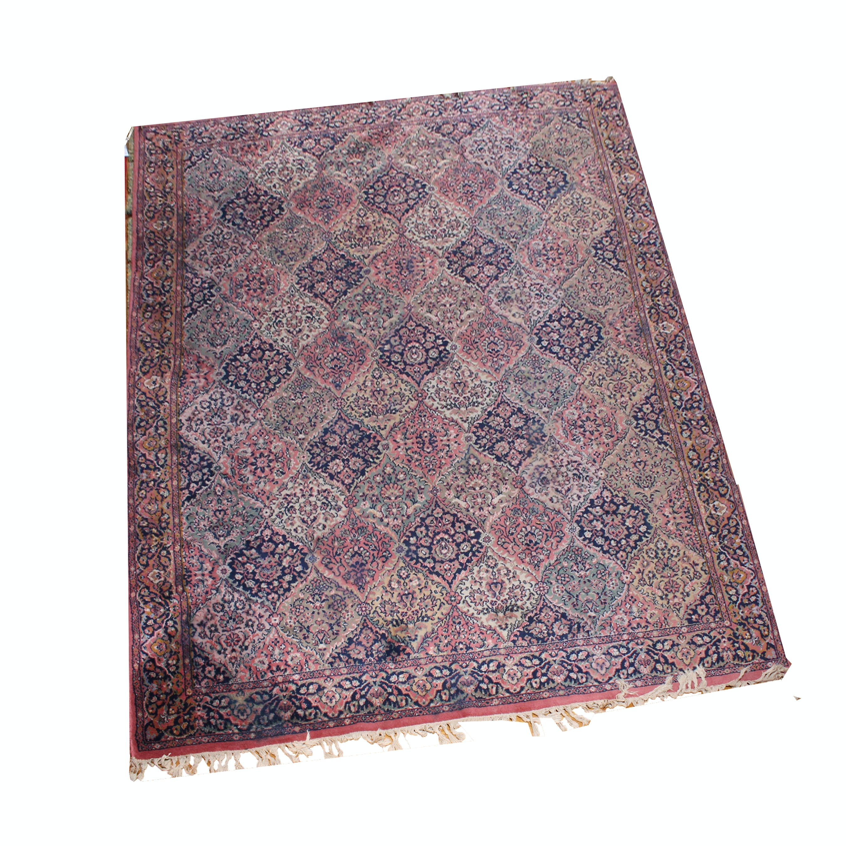 Machine Knotted Area Rug