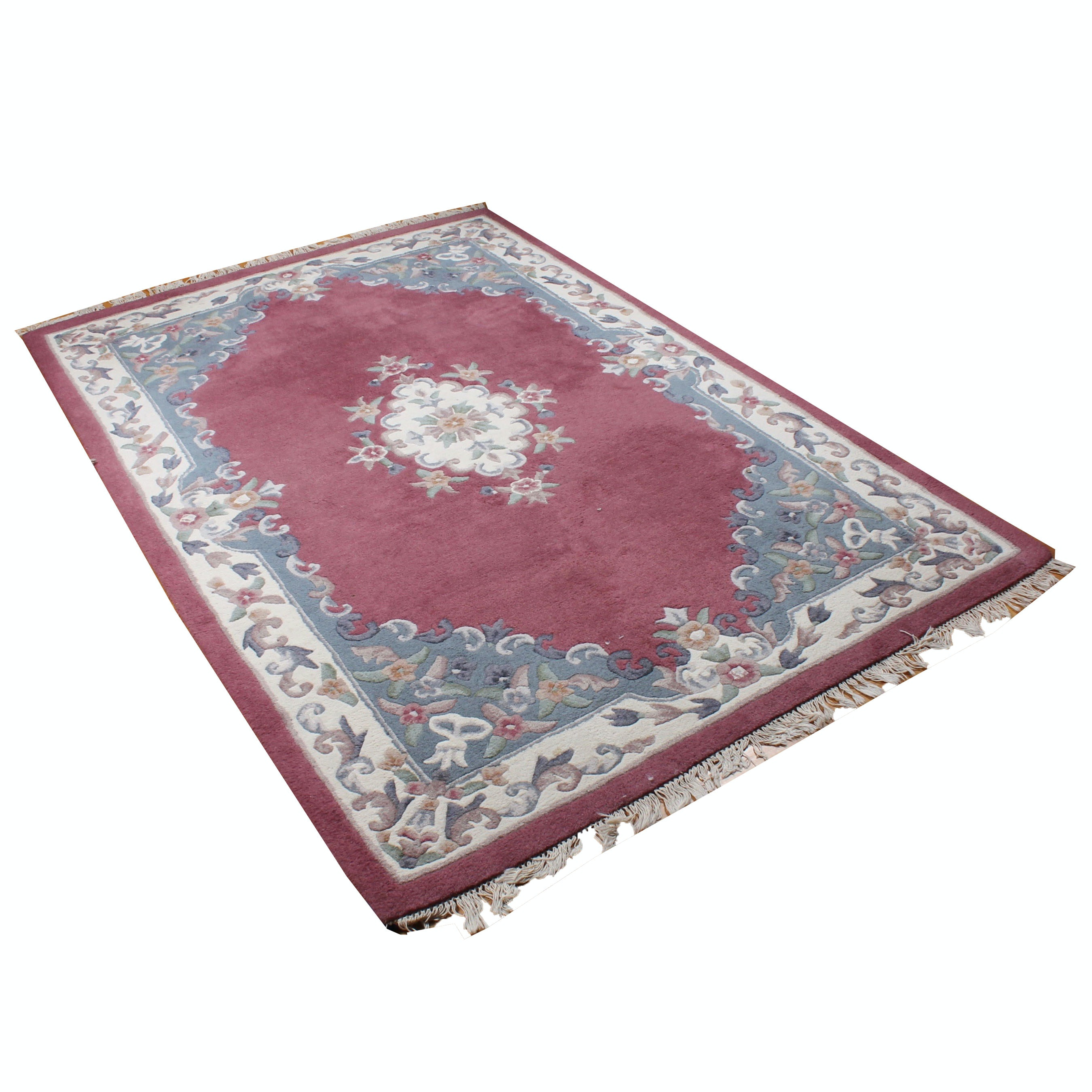 Chinese Hand-Tufted Area Rug