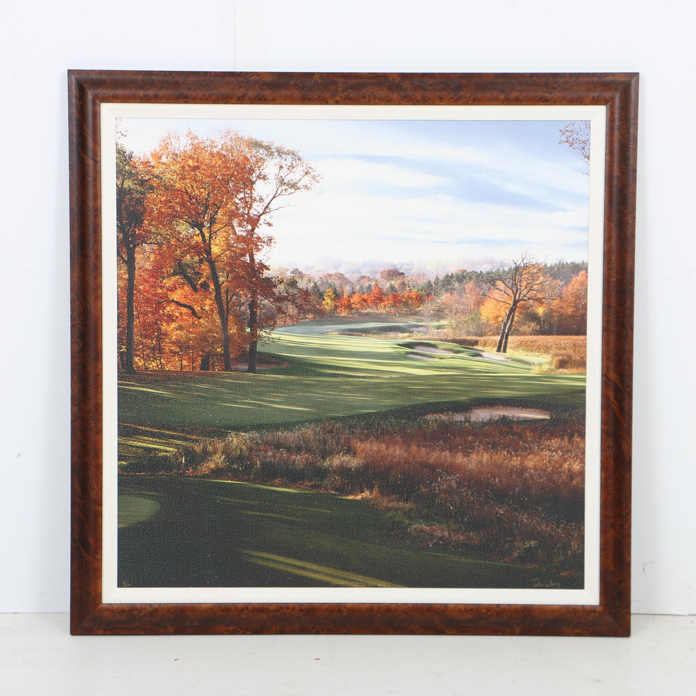 "Peter Wong Limited Editon Giclée ""Spring Hill Golf Club, Hole 13"""