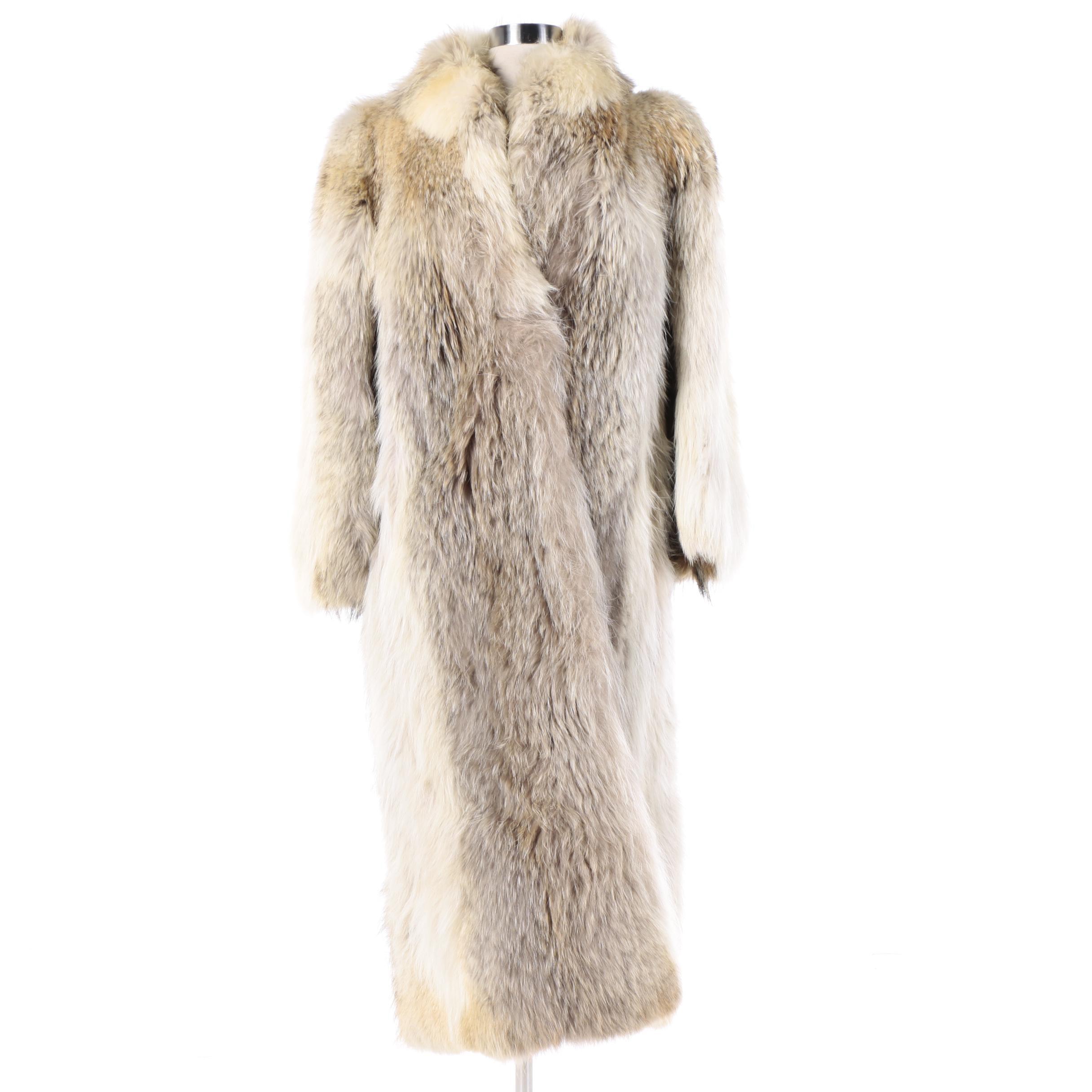 Women's Coyote Fur Coat