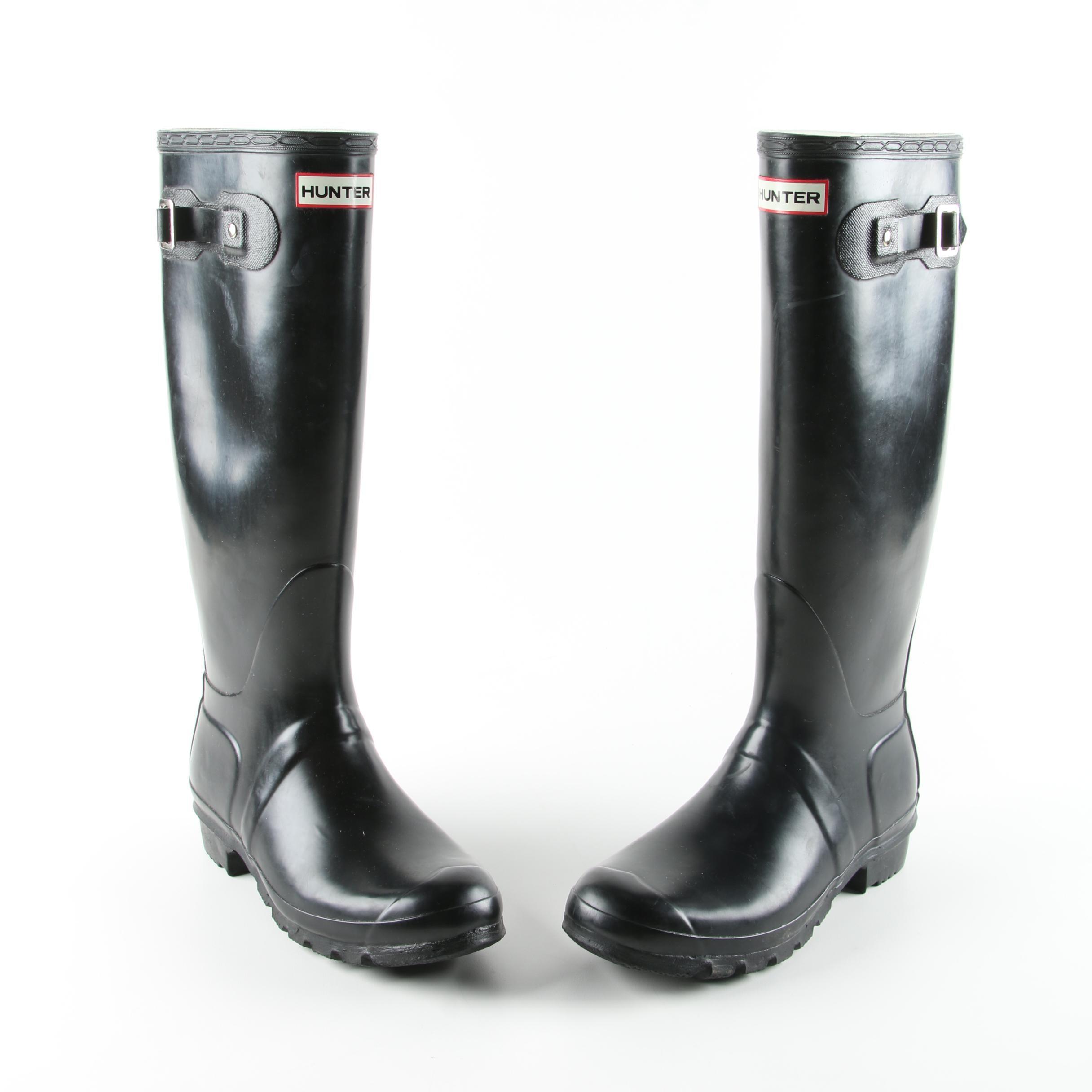 Hunter Original Black Rain Boots