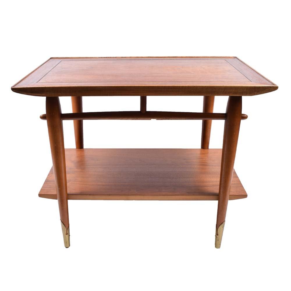 """Mid Century """"Copenhagen"""" Side Table by Lane"""