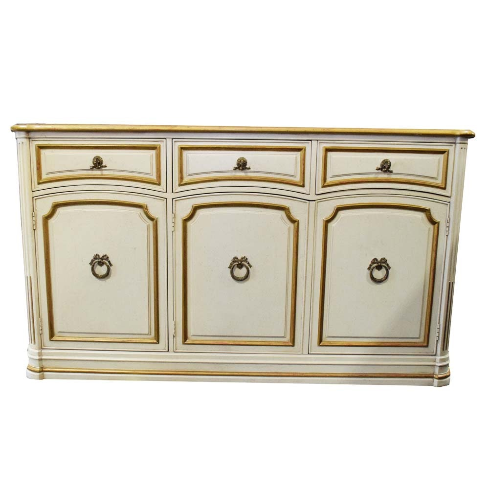 Vintage French Provincial Inspired Buffet