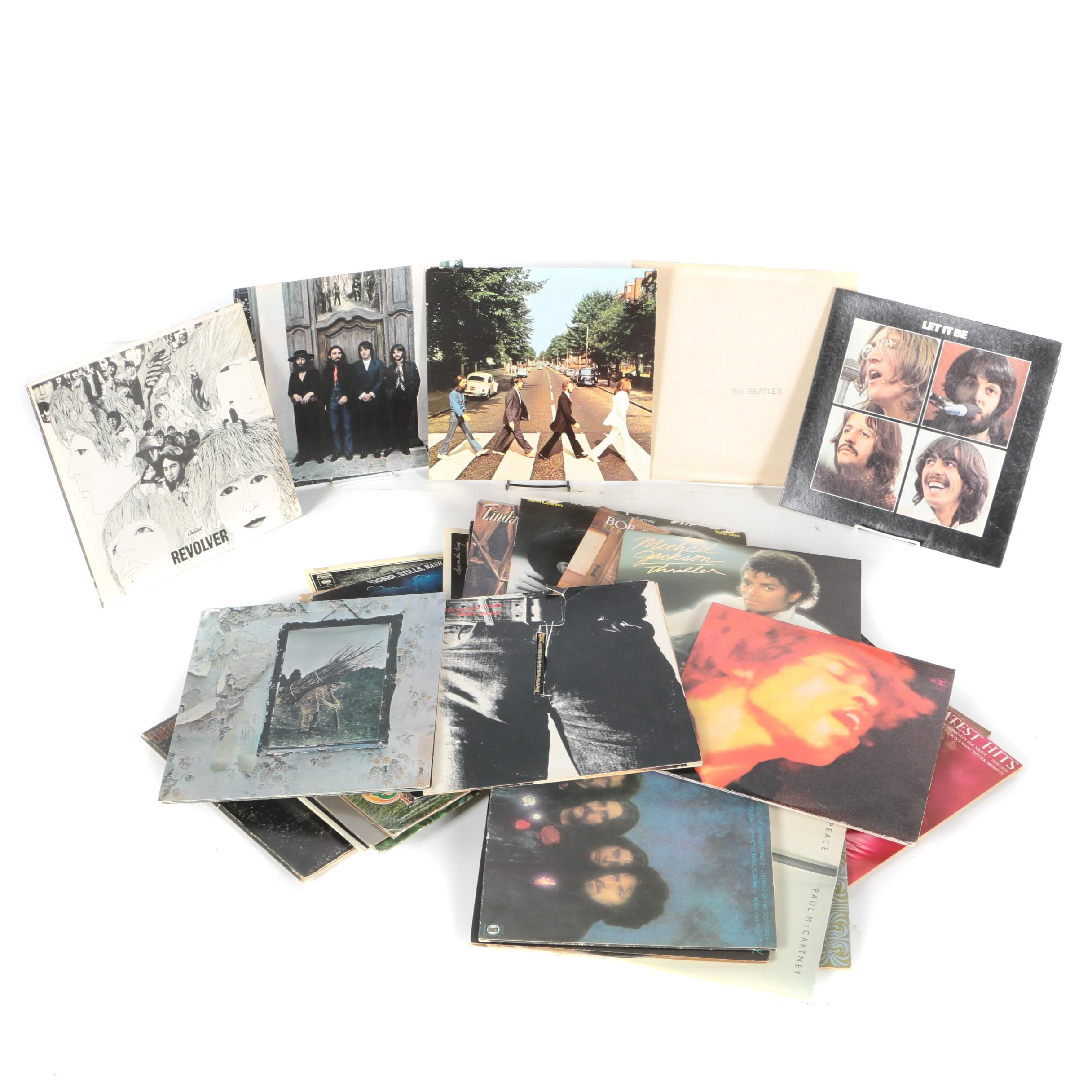"""""""Revolver"""", """"Thriller"""", """"Abbey Road"""" and Other Renown Records"""