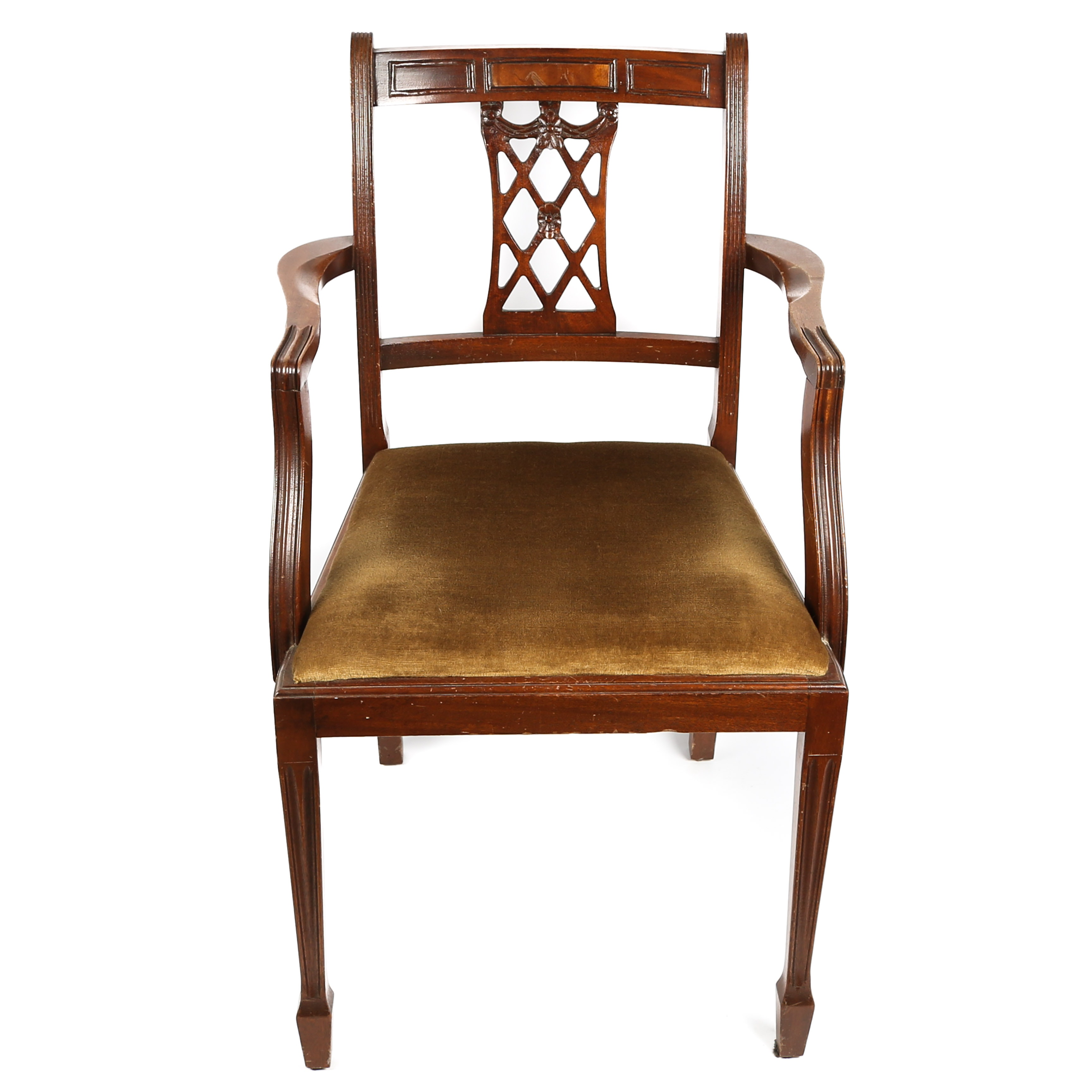 Vintage Regency Arm Chair