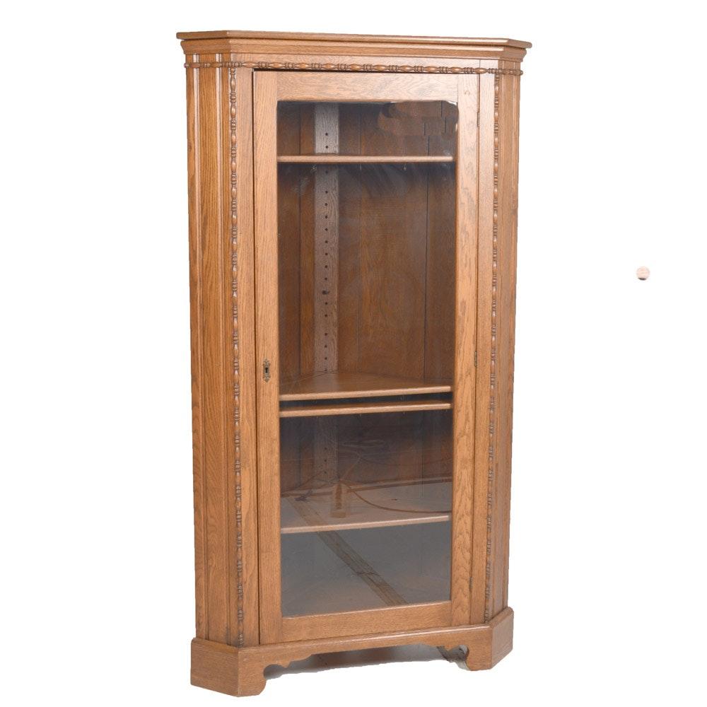 Wood Corner China Cabinet