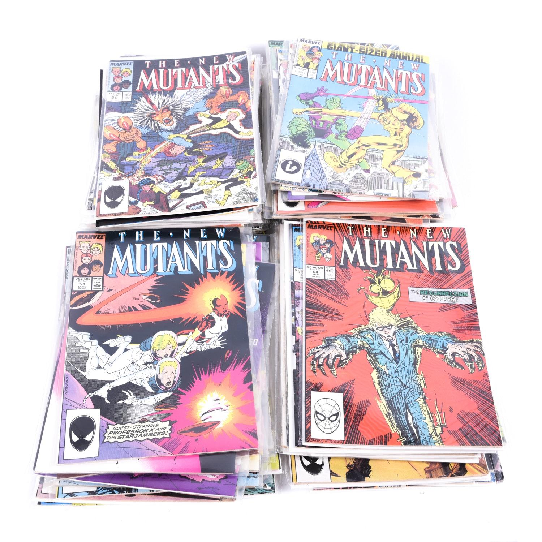 "Bronze Age Marvel ""The New Mutants"" Comic Books"