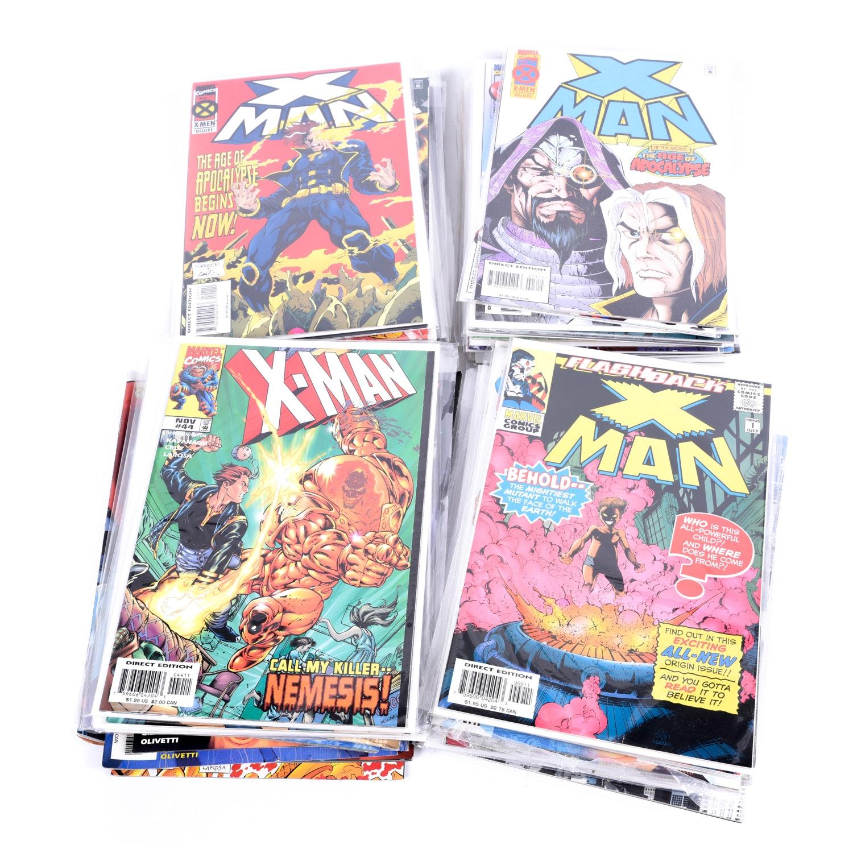 "Modern Age Marvel ""X-Man"" Comic Books"