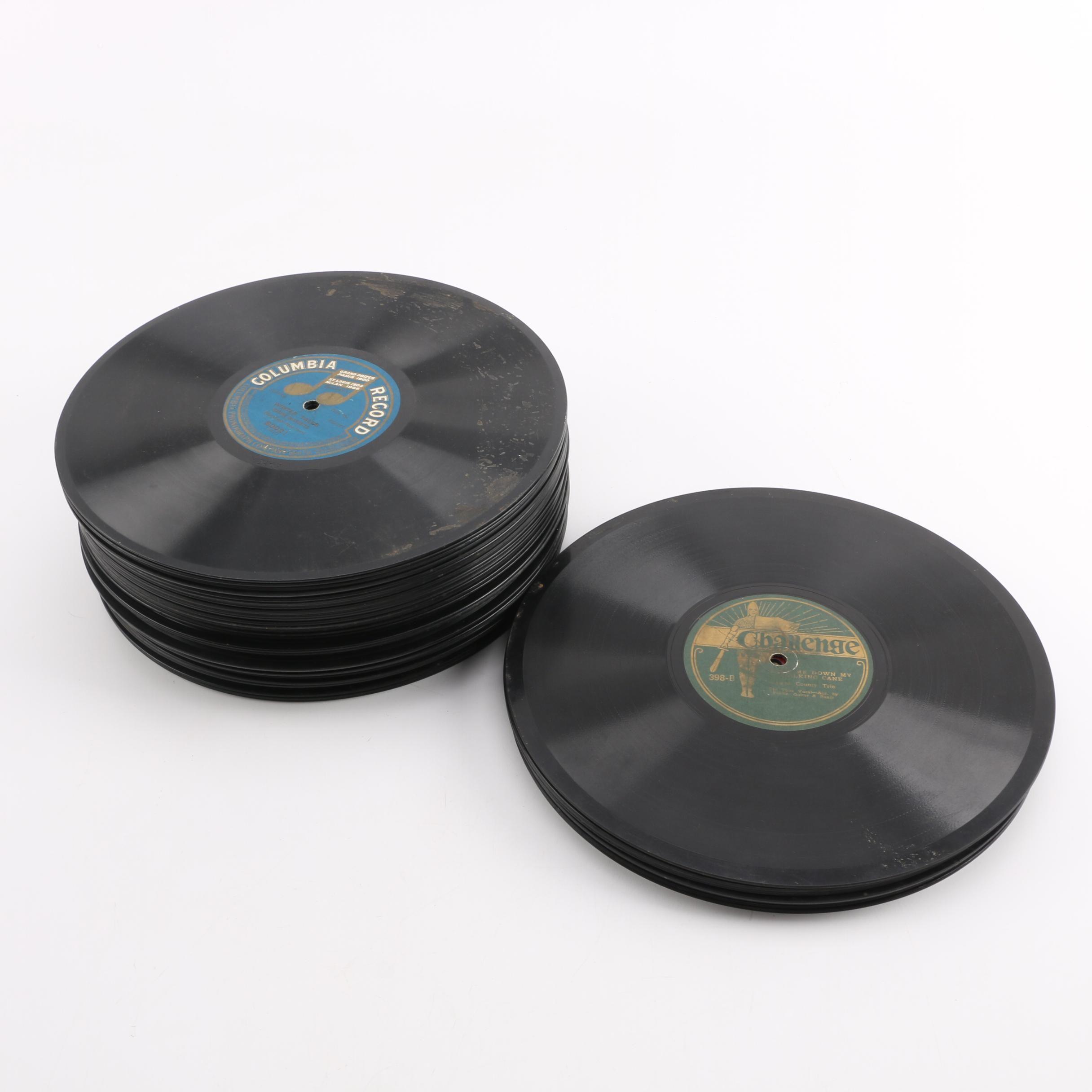 """Vintage 78 rpm 10"""" Records"""