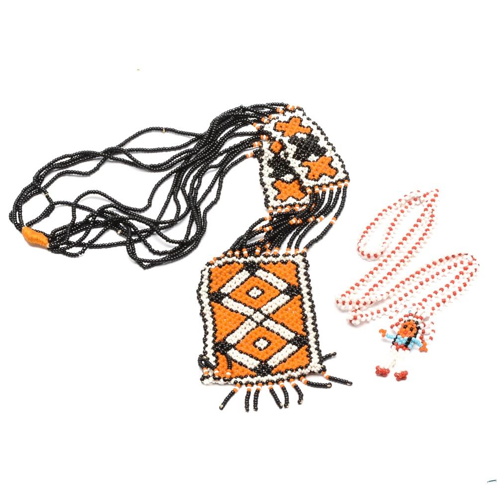 Southwestern Style Beaded Necklaces
