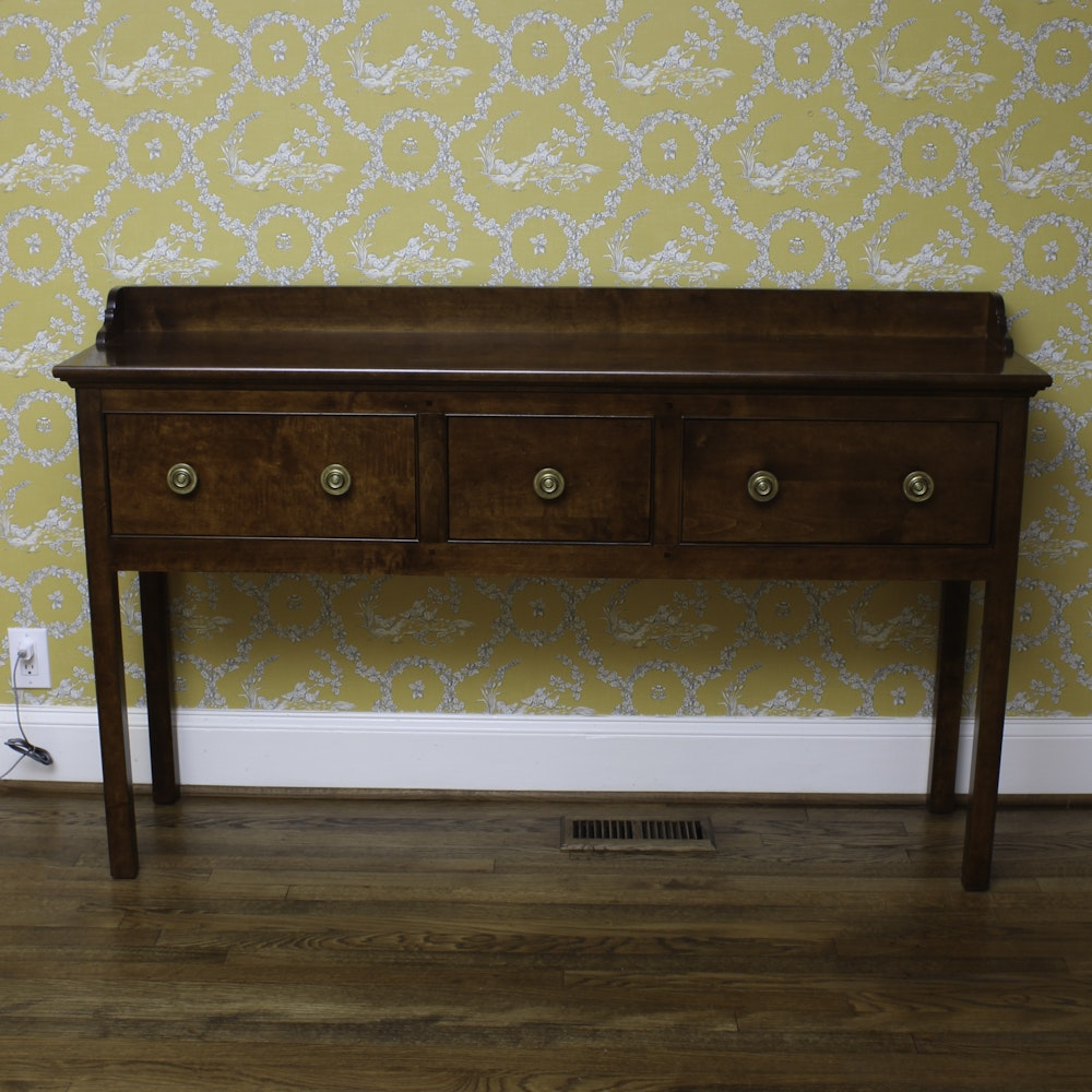 Contemporary Georgian Style Huntboard