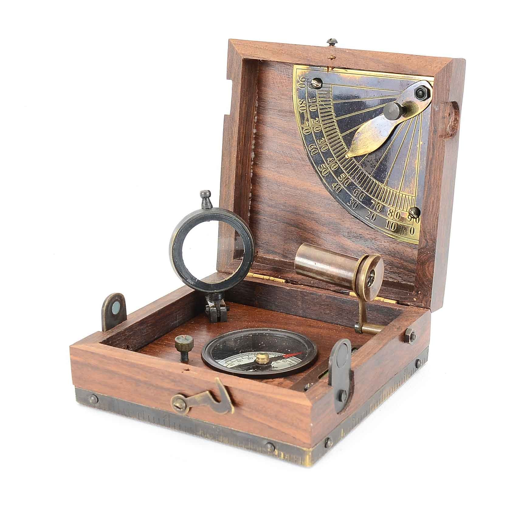 """Marine Master Box"" Navigational Instrument By T. Cooke & Sons"