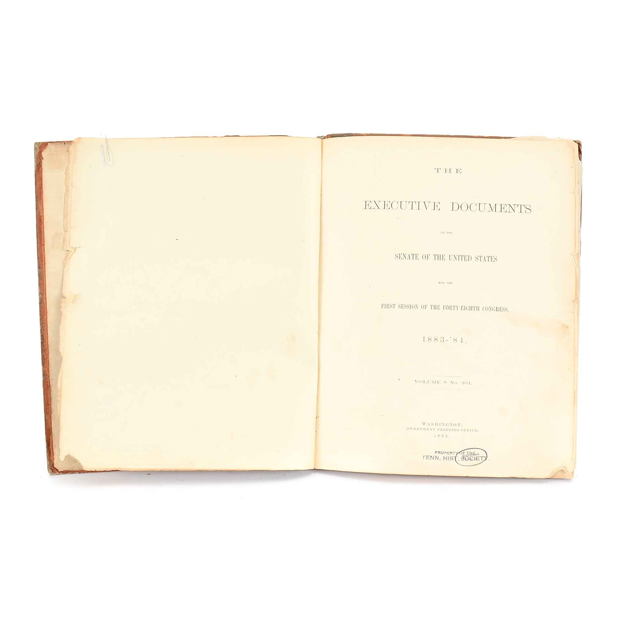 """1884 """"Report of the Cruise of the 'Thomas Corwin'"""" in Hardcover"""