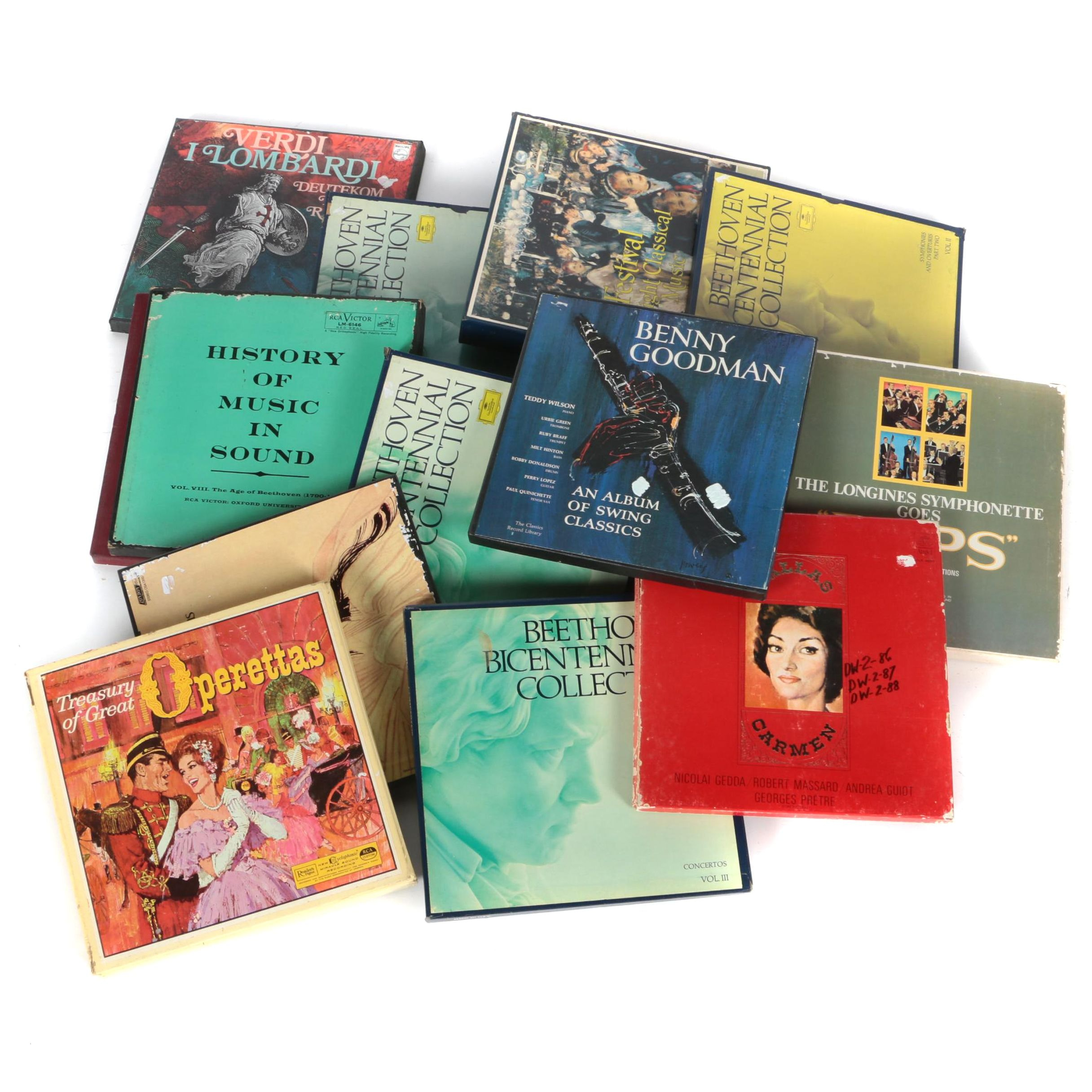 Classical, Opera and Jazz Records