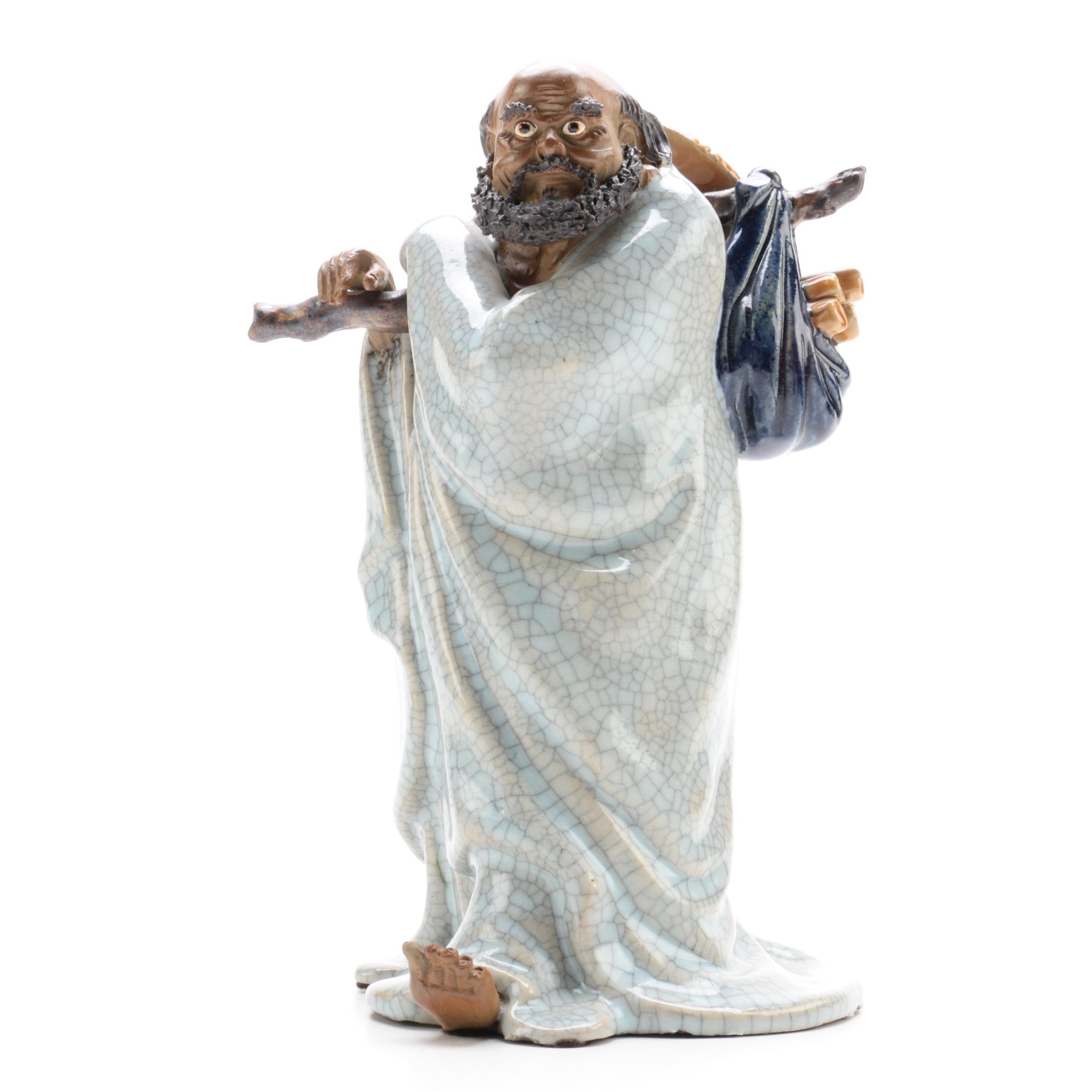Chinese Traveler Figurine