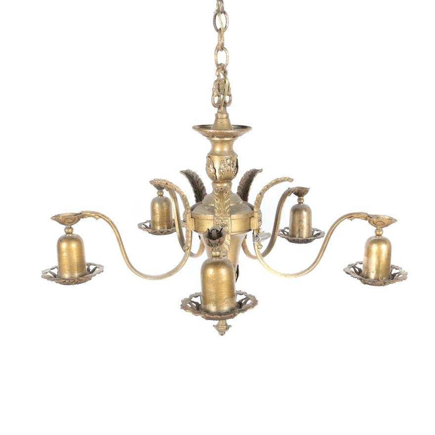 Vintage victorian style chandelier ebth vintage victorian style chandelier mozeypictures Choice Image