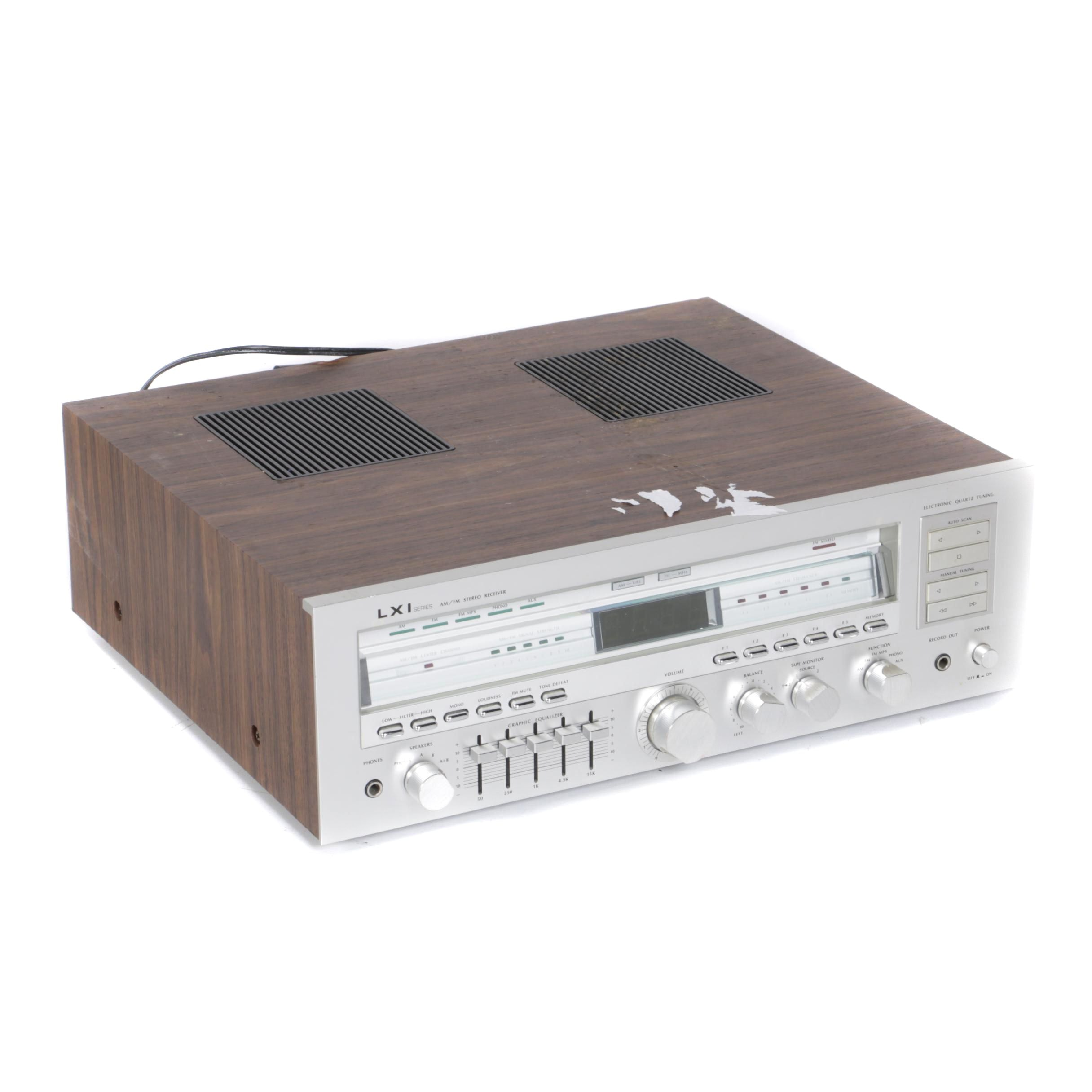 LXI Series AM/FM Stereo Receiver
