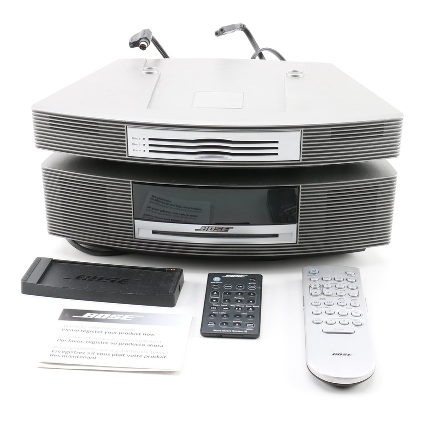 Bose Stereo and CD Player