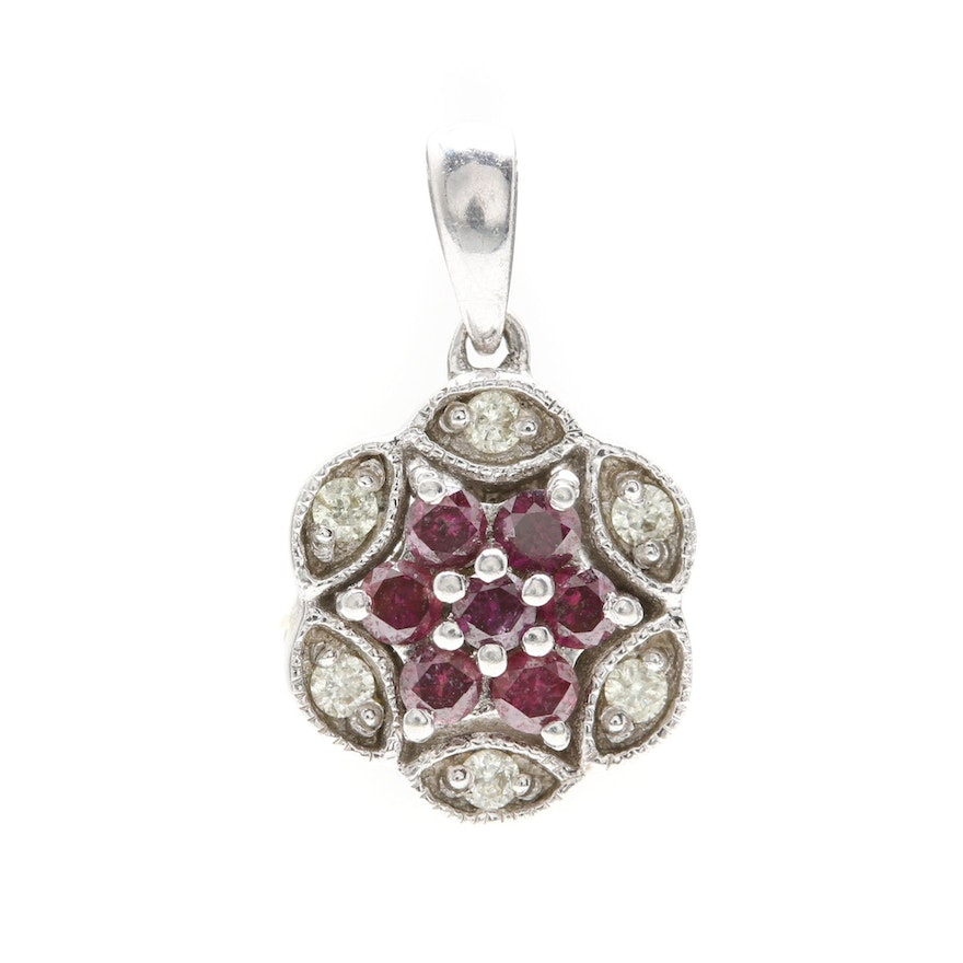 pendant zoom silver cut kay diamond kaystore ct mv hover tw purple zm sterling to round necklace en