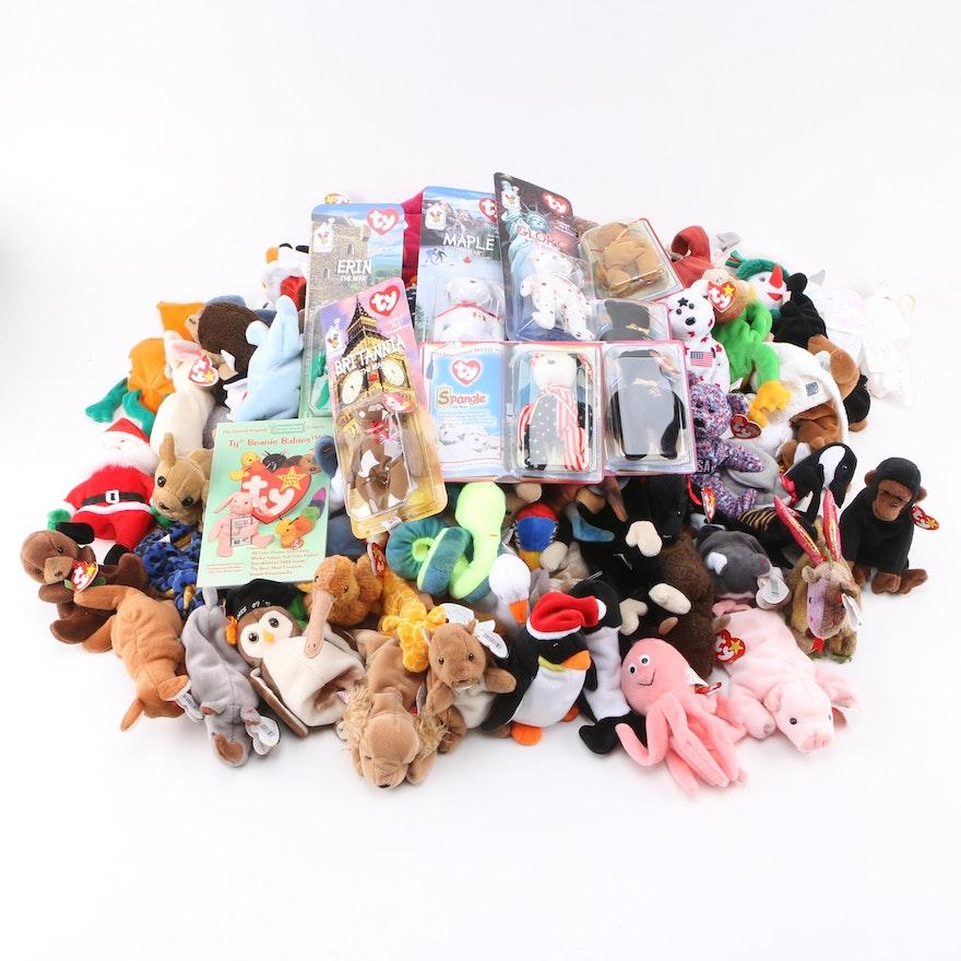 Ty Beanie Babies Including 1999–2000 McDonald s International Bears   EBTH 08afc9e51d96
