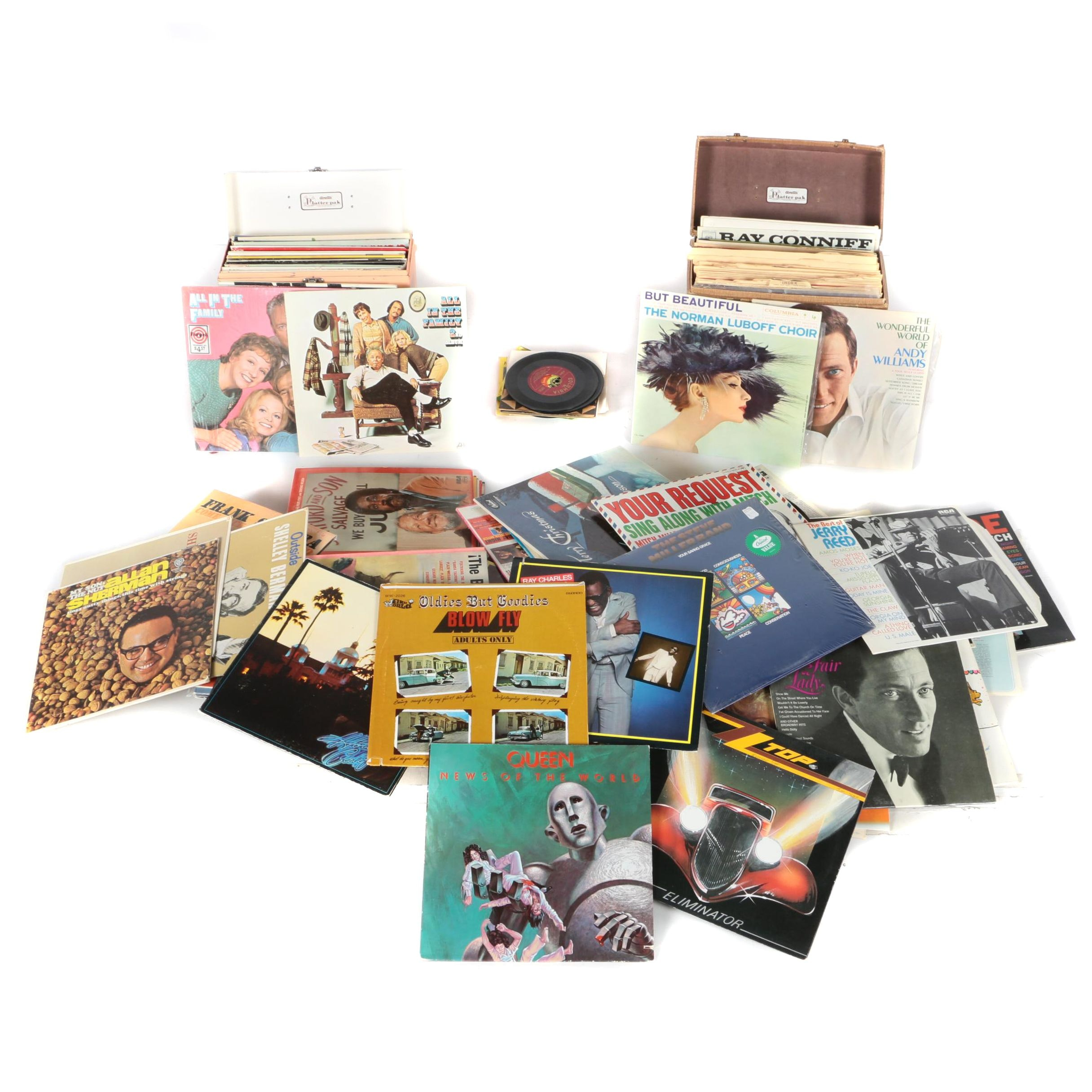 Classic Rock, Soundtracks, Easy Listening and More 45 rpm and LP Records