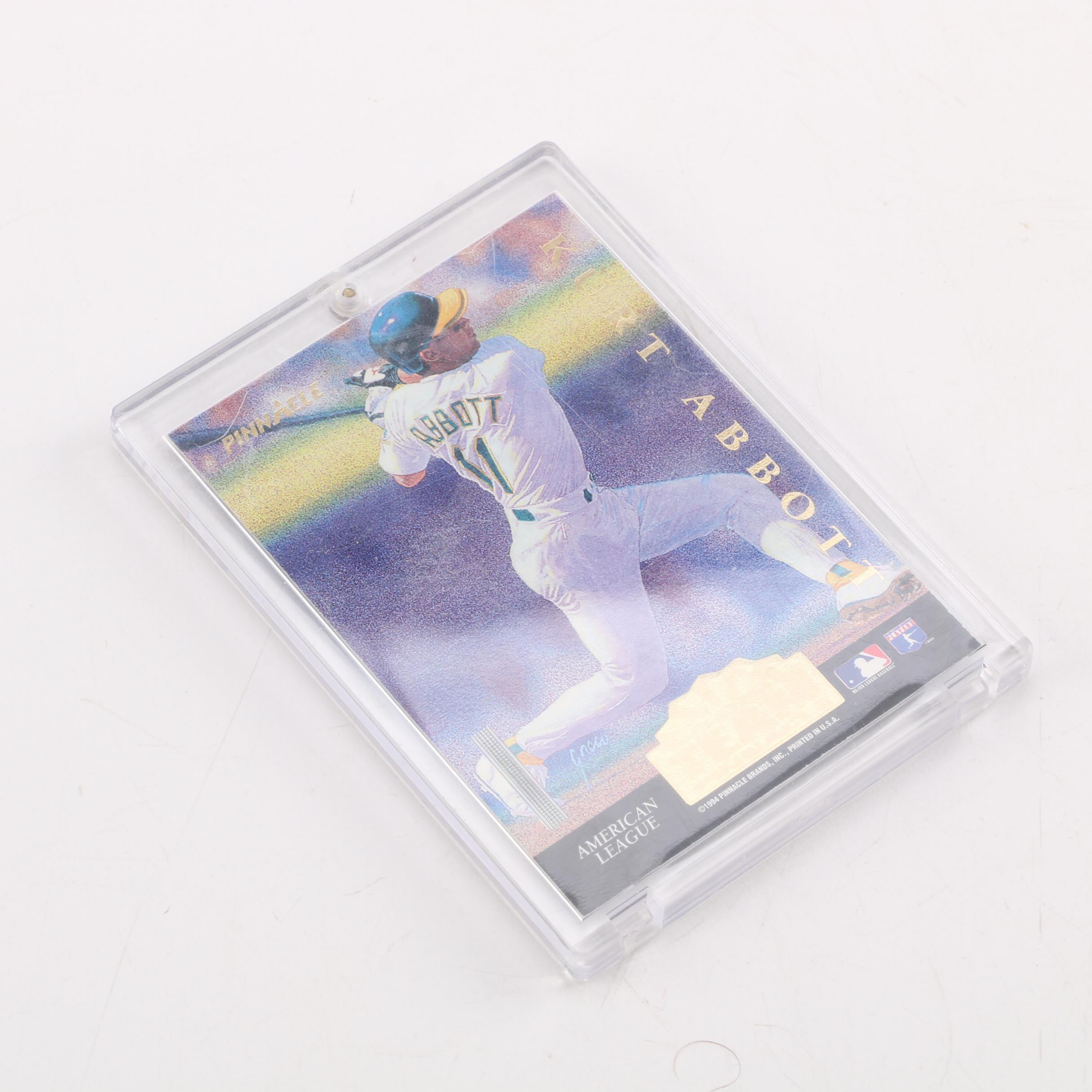 1994 Pinnacle Rookie Team Kurt Abbott/Chipper Jones Baseball Card