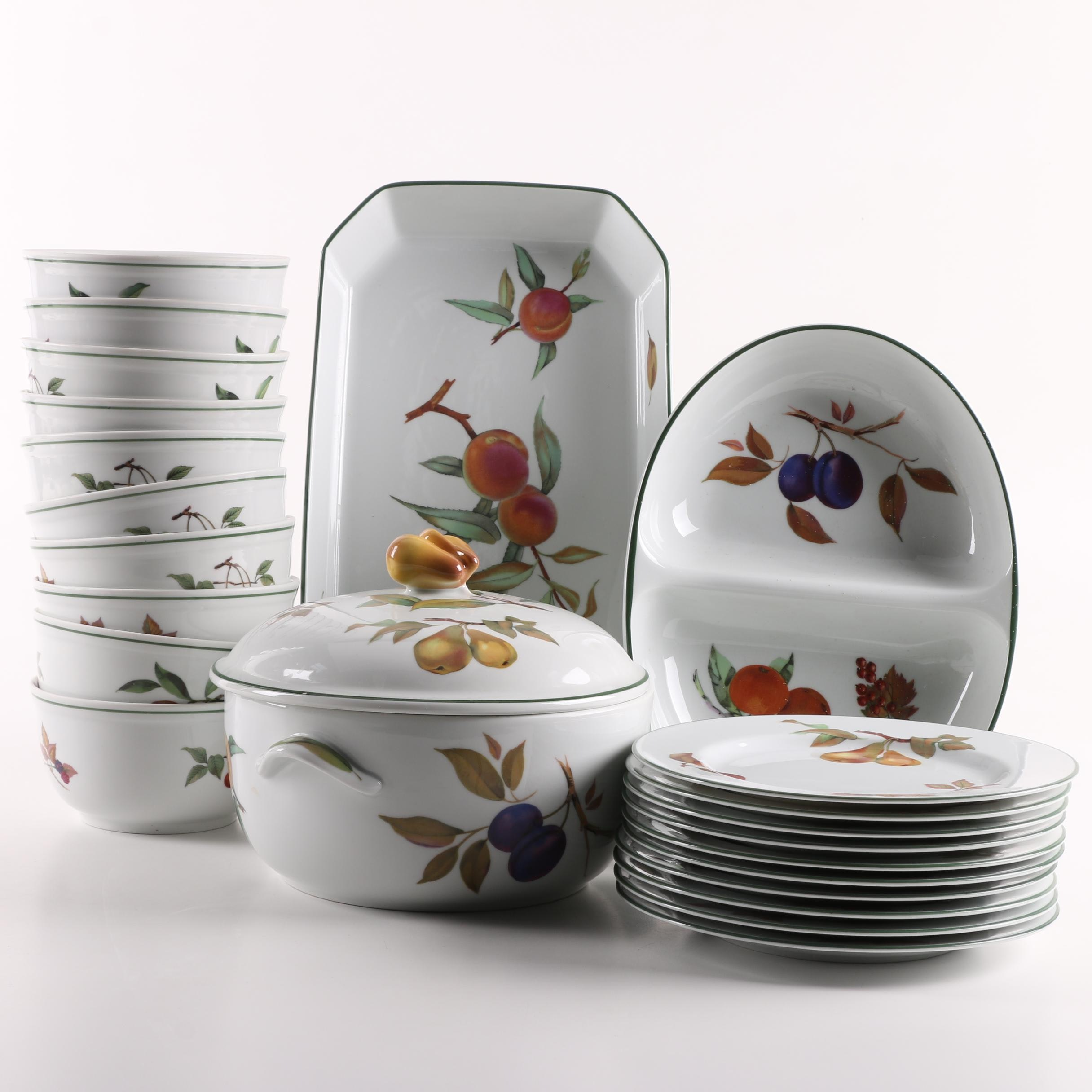 Royal Worcester  Evesham Vale  Dinnerware ... & Royal Worcester