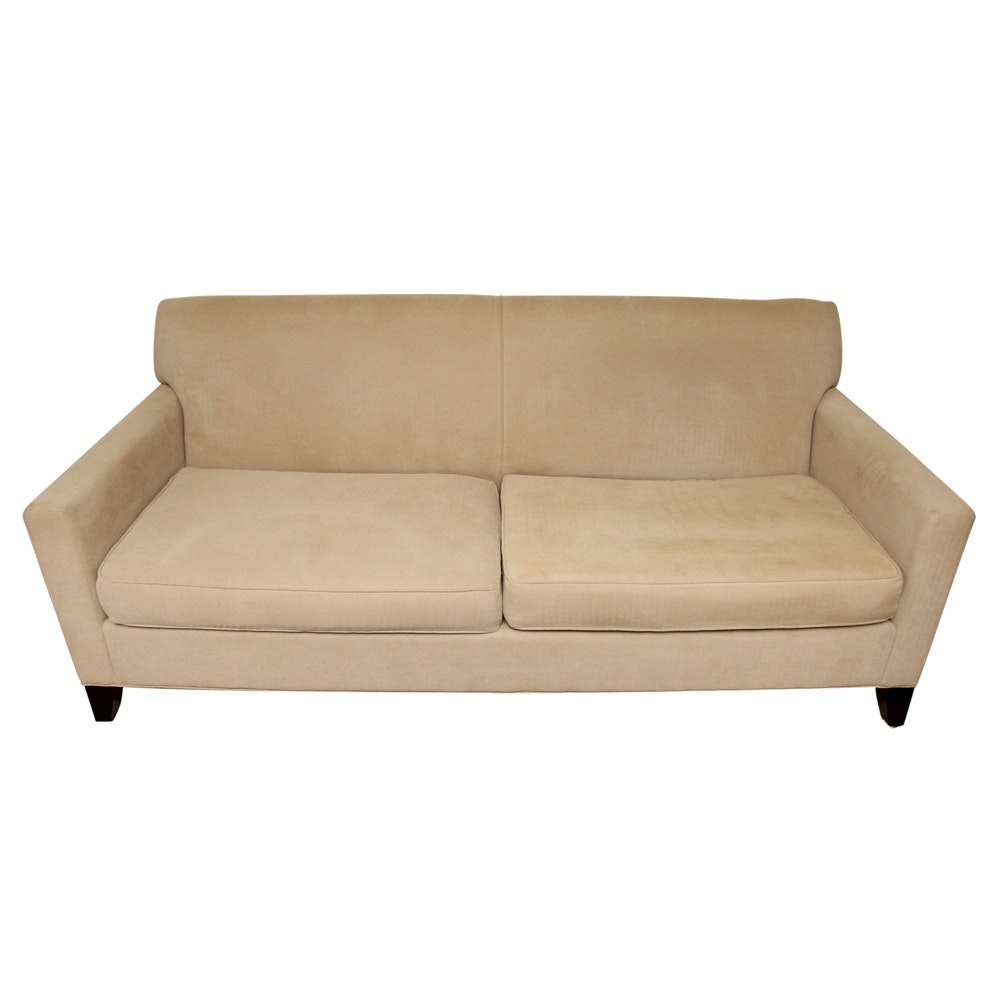 Contemporary Upholstered Sofa by Rowe Furniture