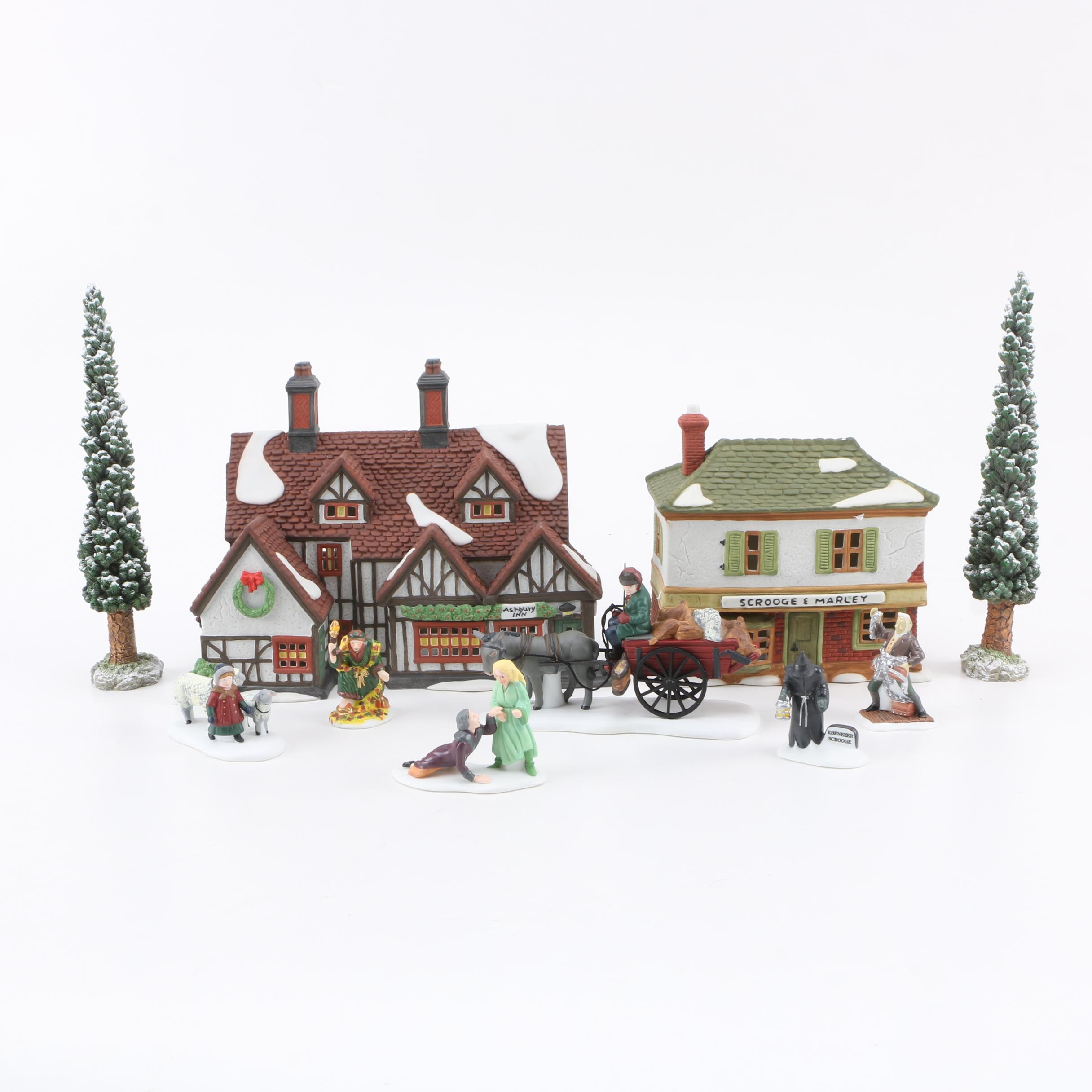 Department 56 Heritage Collection Dickens Village Buildings and Figurines