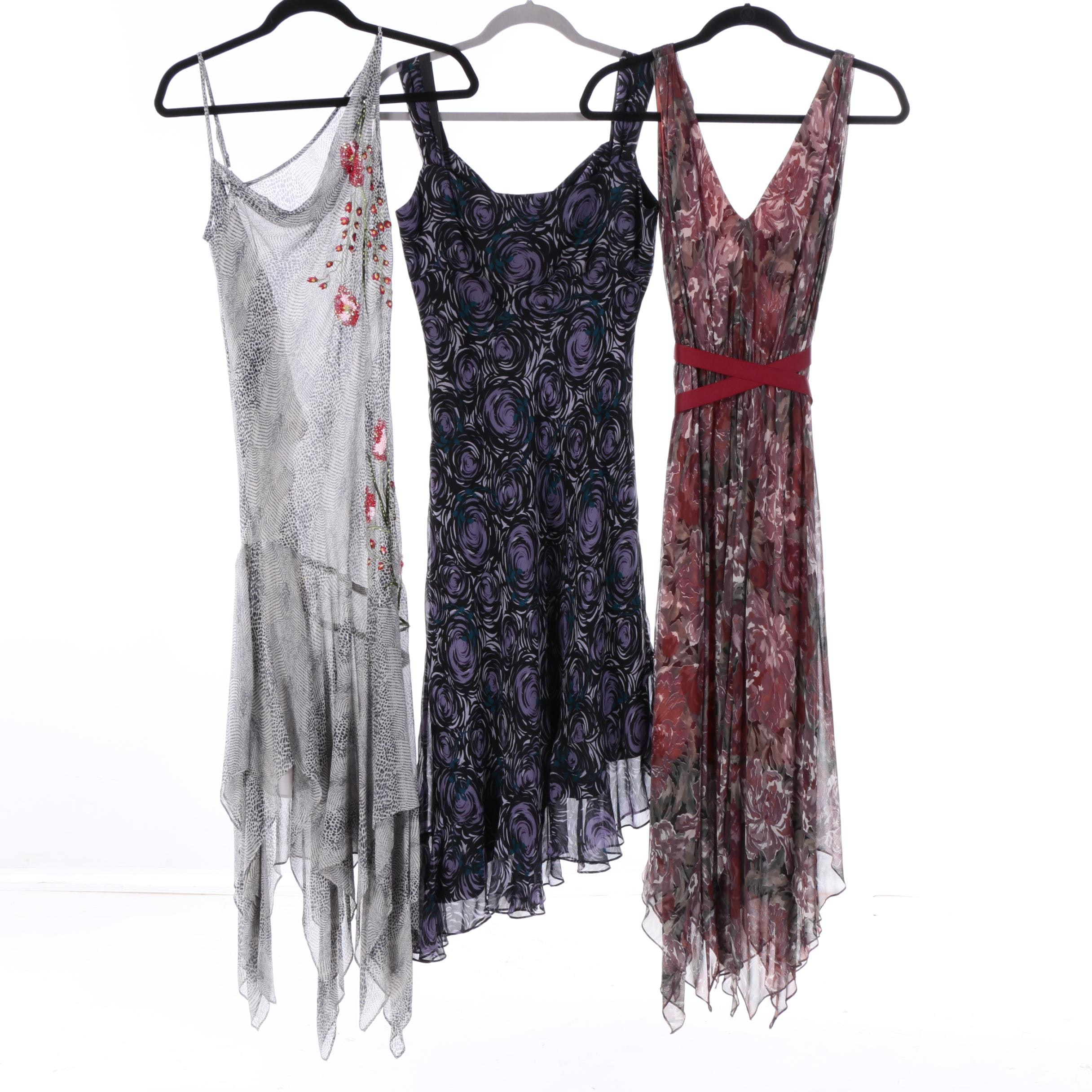 Women's Silk Sleeveless Dresses Including Laundry by Shelli Segal