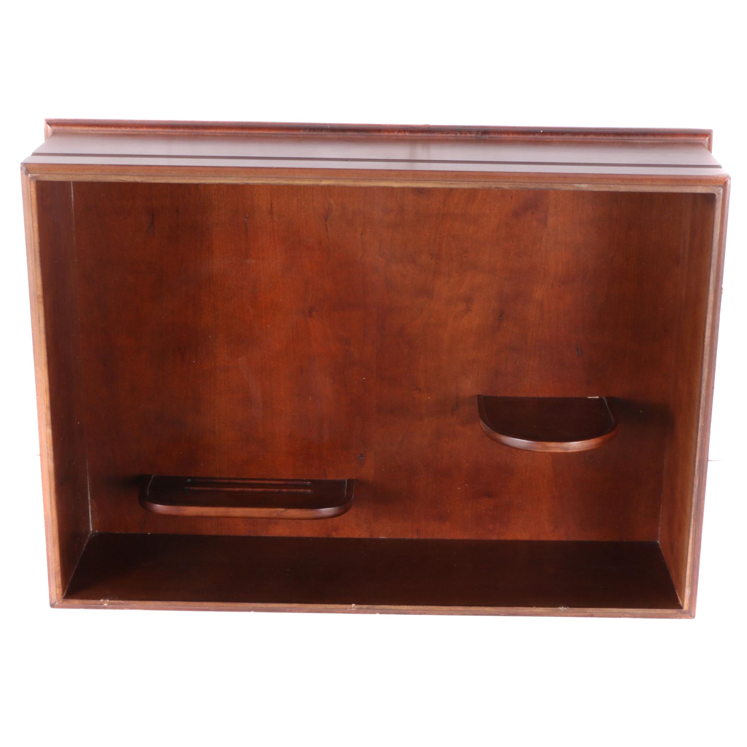 Kurt Clement 1978 Wooden Display Cabinet
