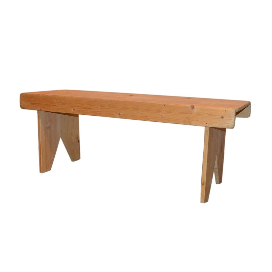 Rustic Pine Bench