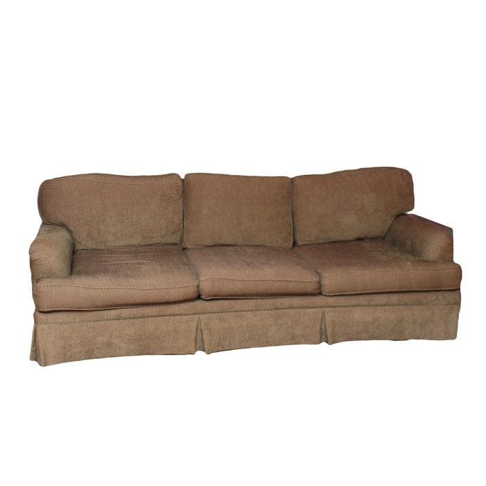 Herringbone Fabric Sofa by Century Furniture