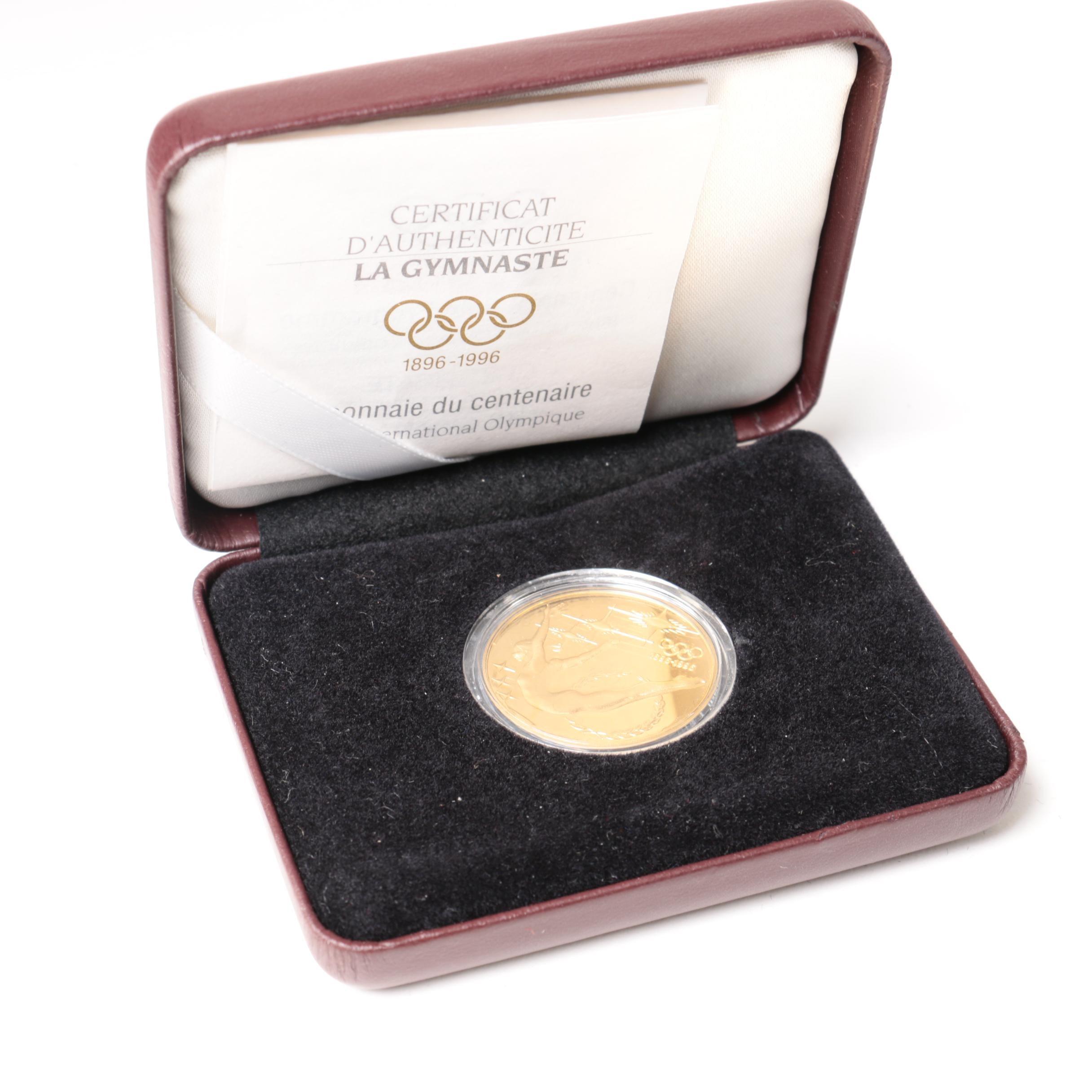 1993 Australia $200 Olympics Centenary Commemorative Gold Proof Coin