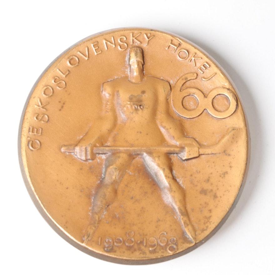 1968 Czechoslovakian Ice Hockey Bronze Medal