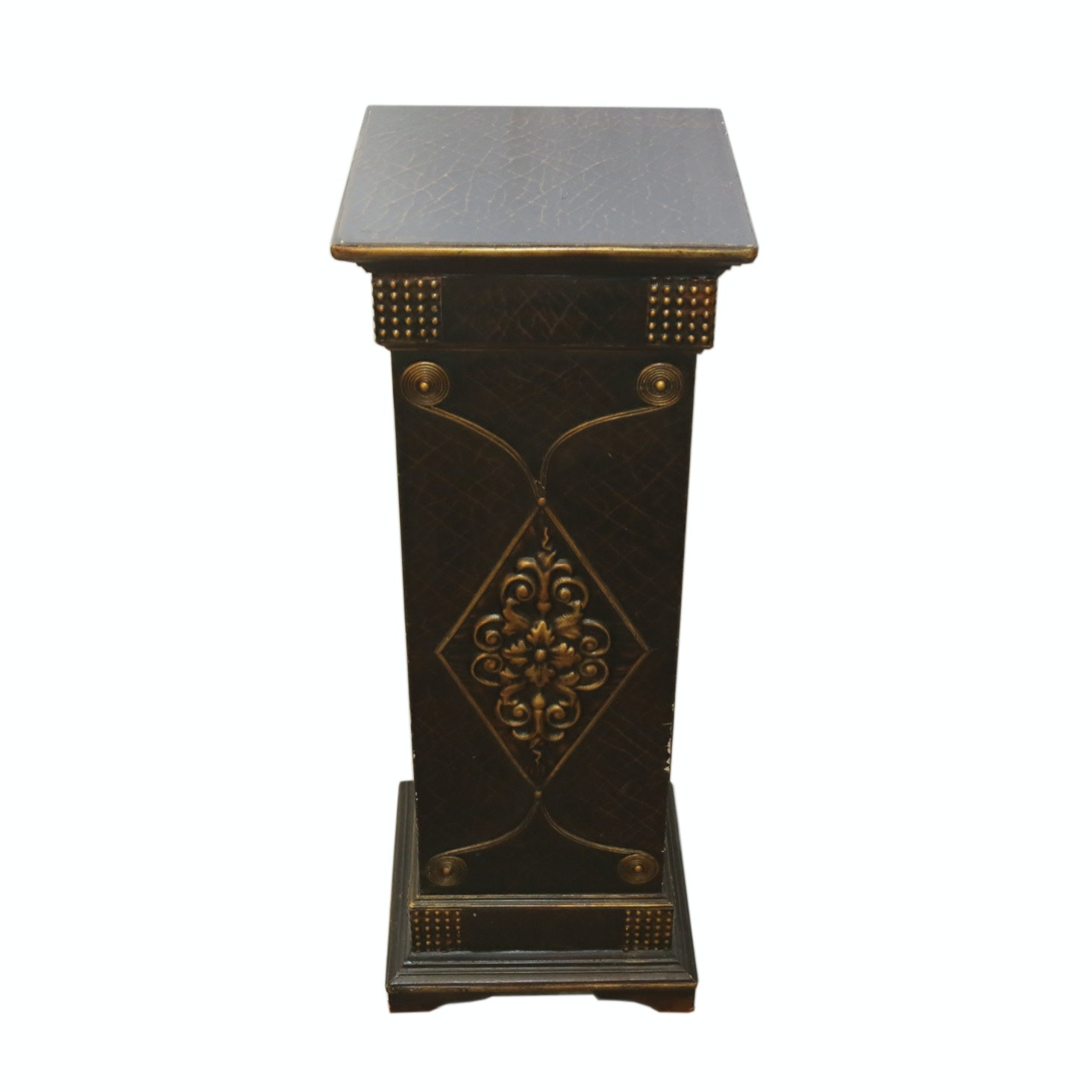 Vintage Neoclassical Style Pedestal