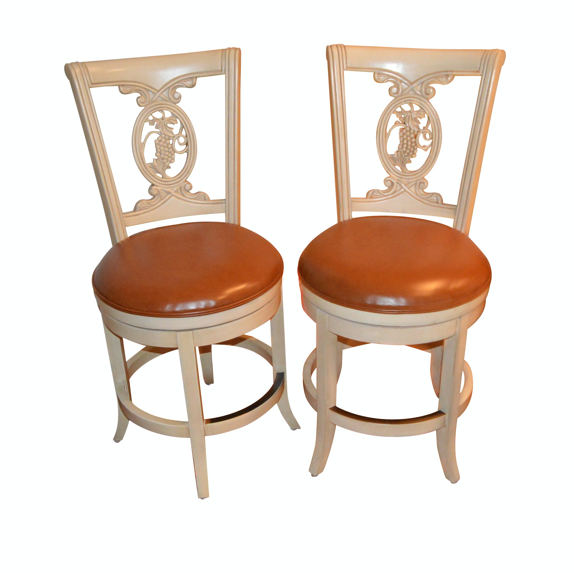 Pair of Frontgate Bar Stools