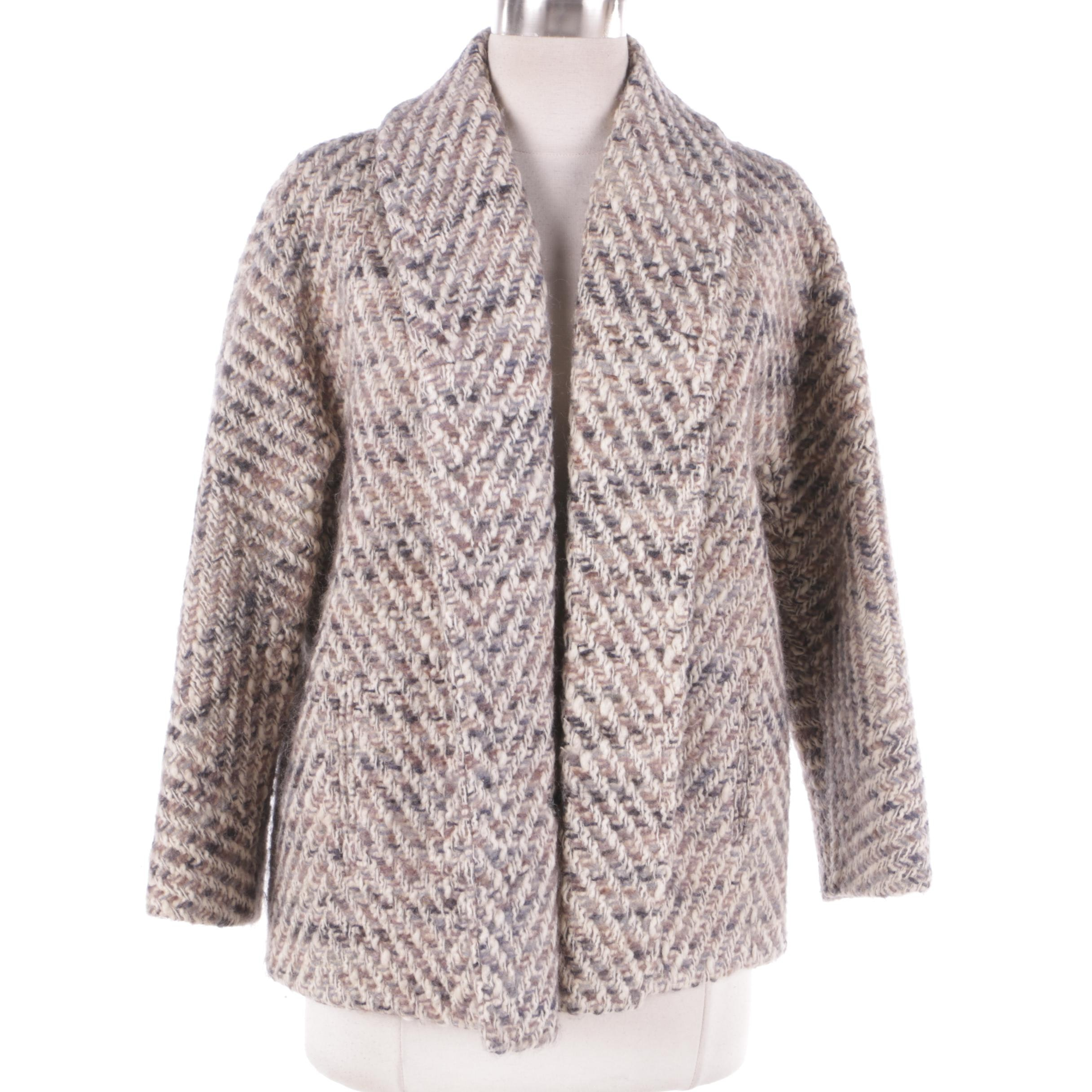 Women's Multicolored Wool Jacket from The Ladies Shop