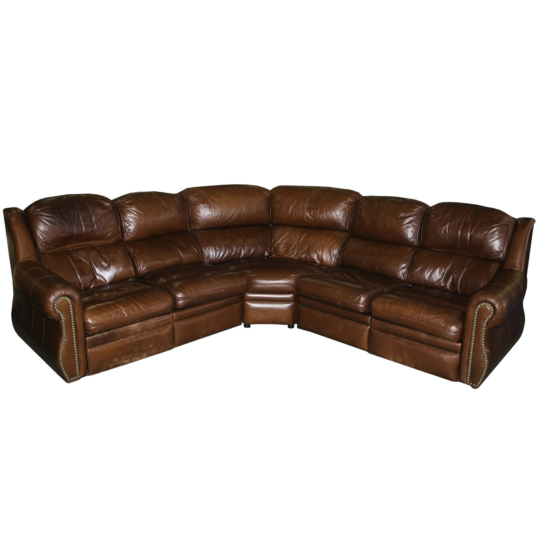 Leather Sectional Sofa by  Thomasville