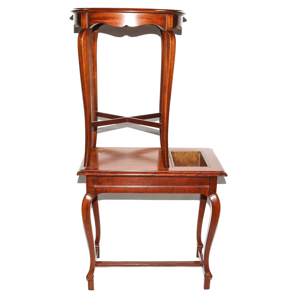 Pair of Queen Anne Style Accent Tables