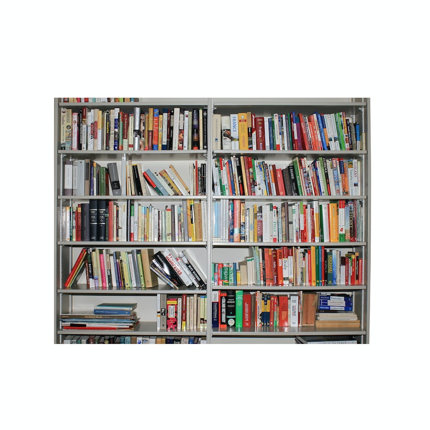 Italian And French Travel Guides Coffee Table Books Cookbooks