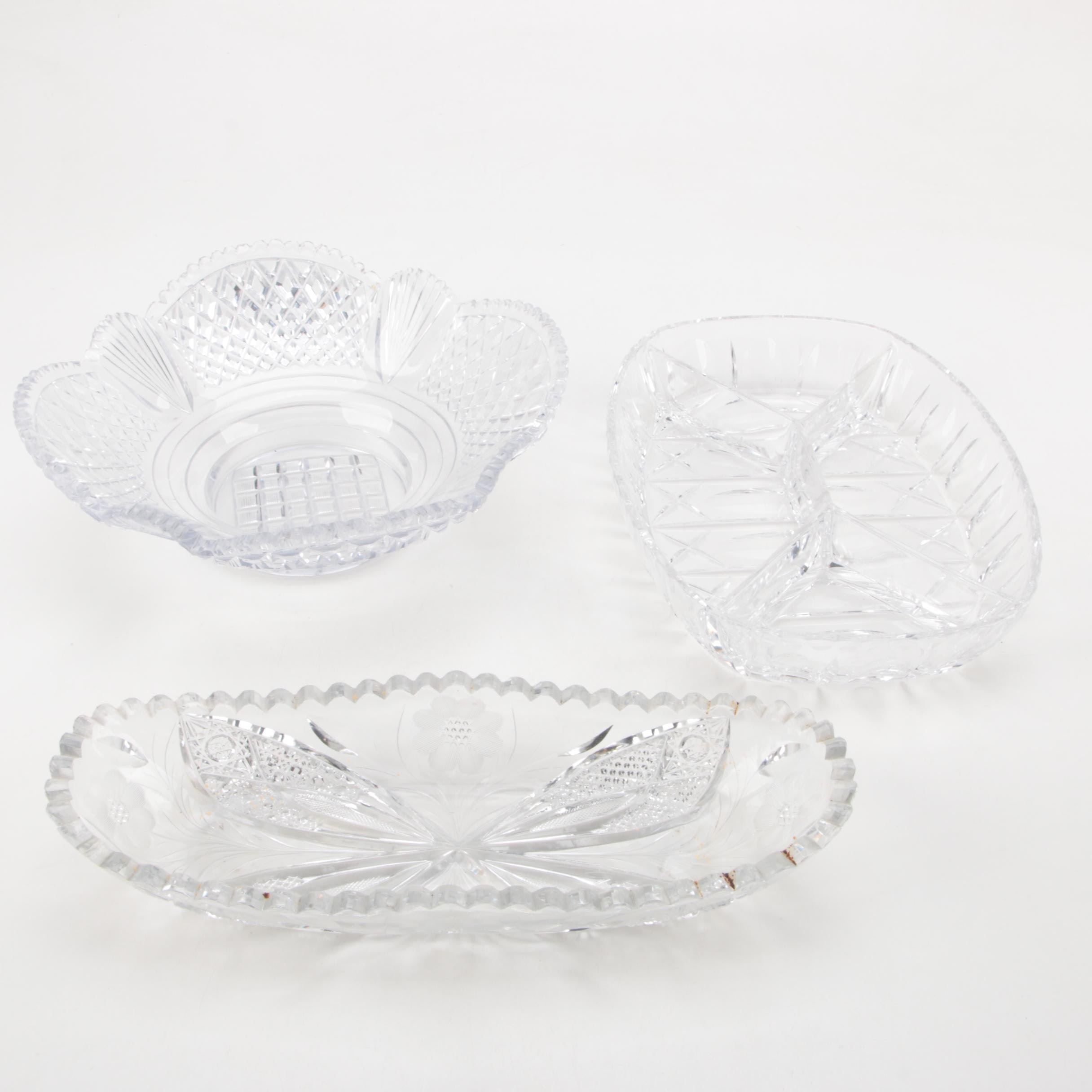 Crystal Serving Bowl Collection