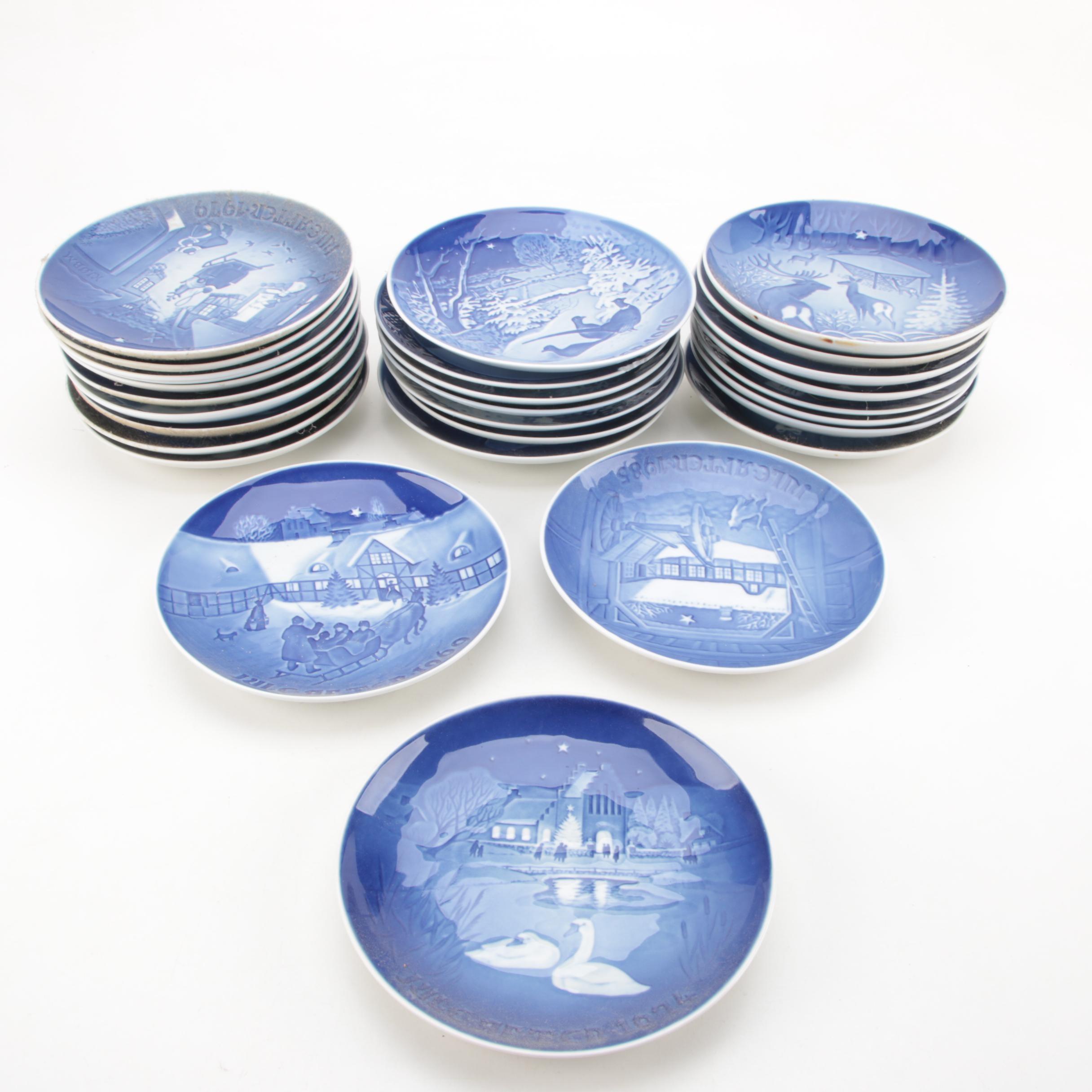 Bing & Grøndahl Commemorative Christmas Collector Plates