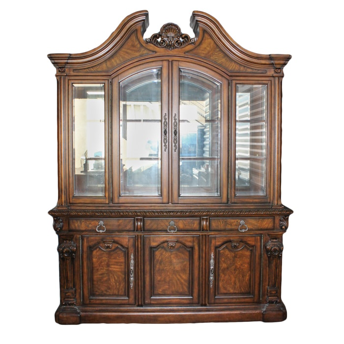 Baroque Style China Cabinet